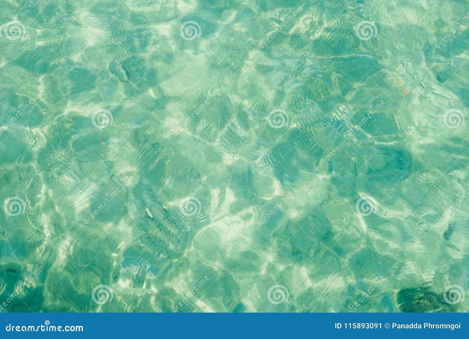 Textura de la agua de mar, fondo abstracto de la acuarela