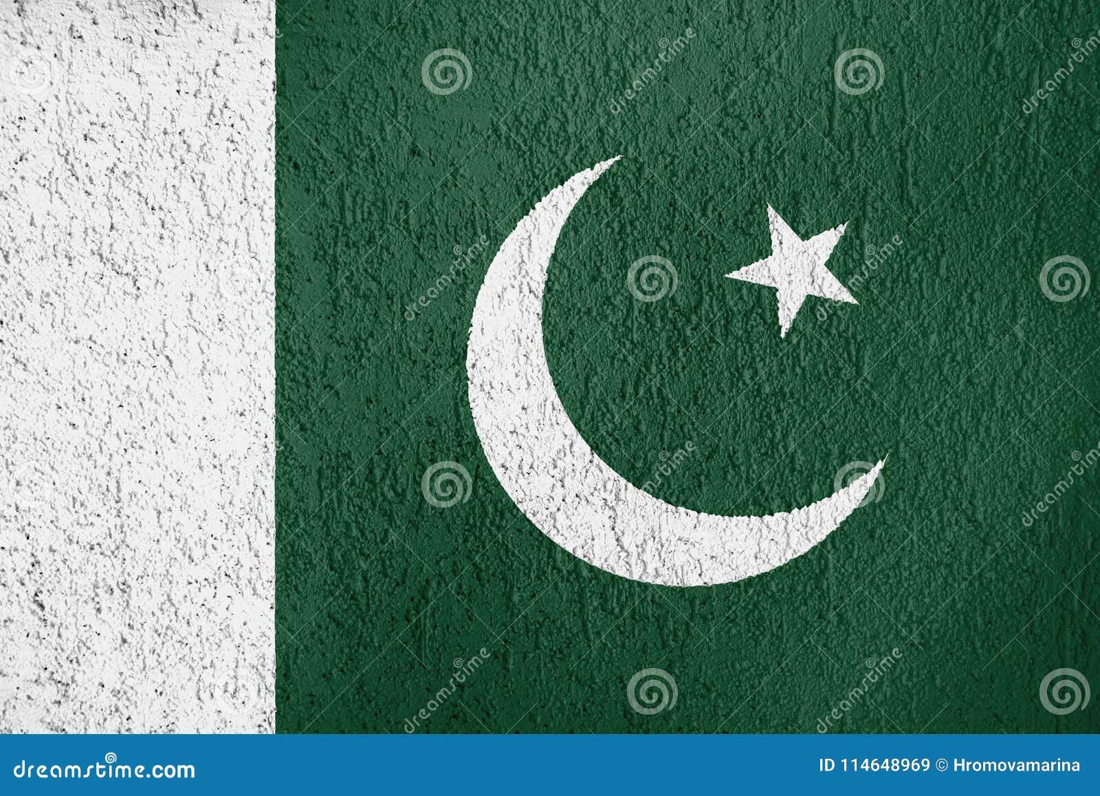 Textura de la bandera de Paquistán