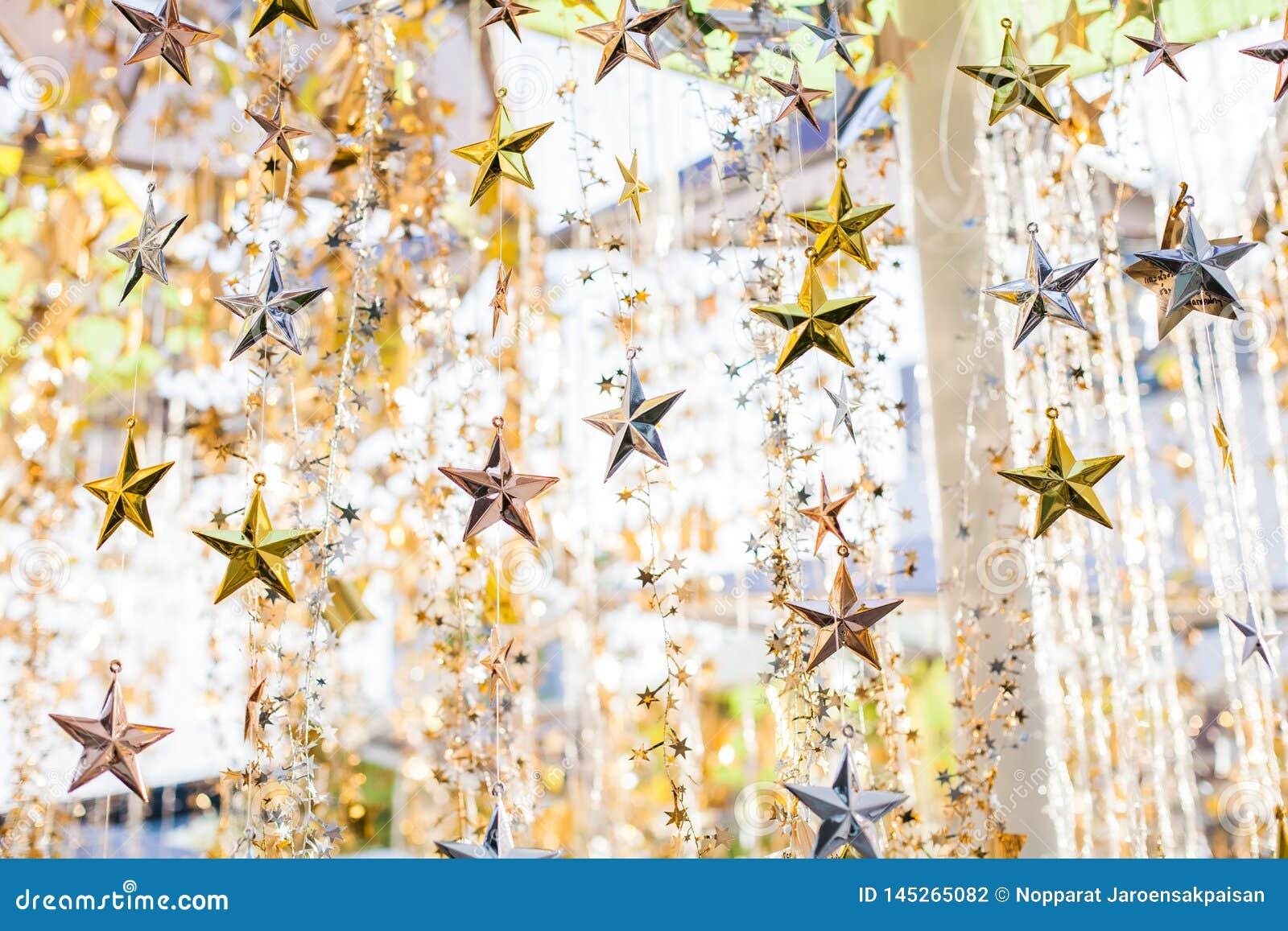 Textura de la estrella del brillo, fondo brillante de la estrella