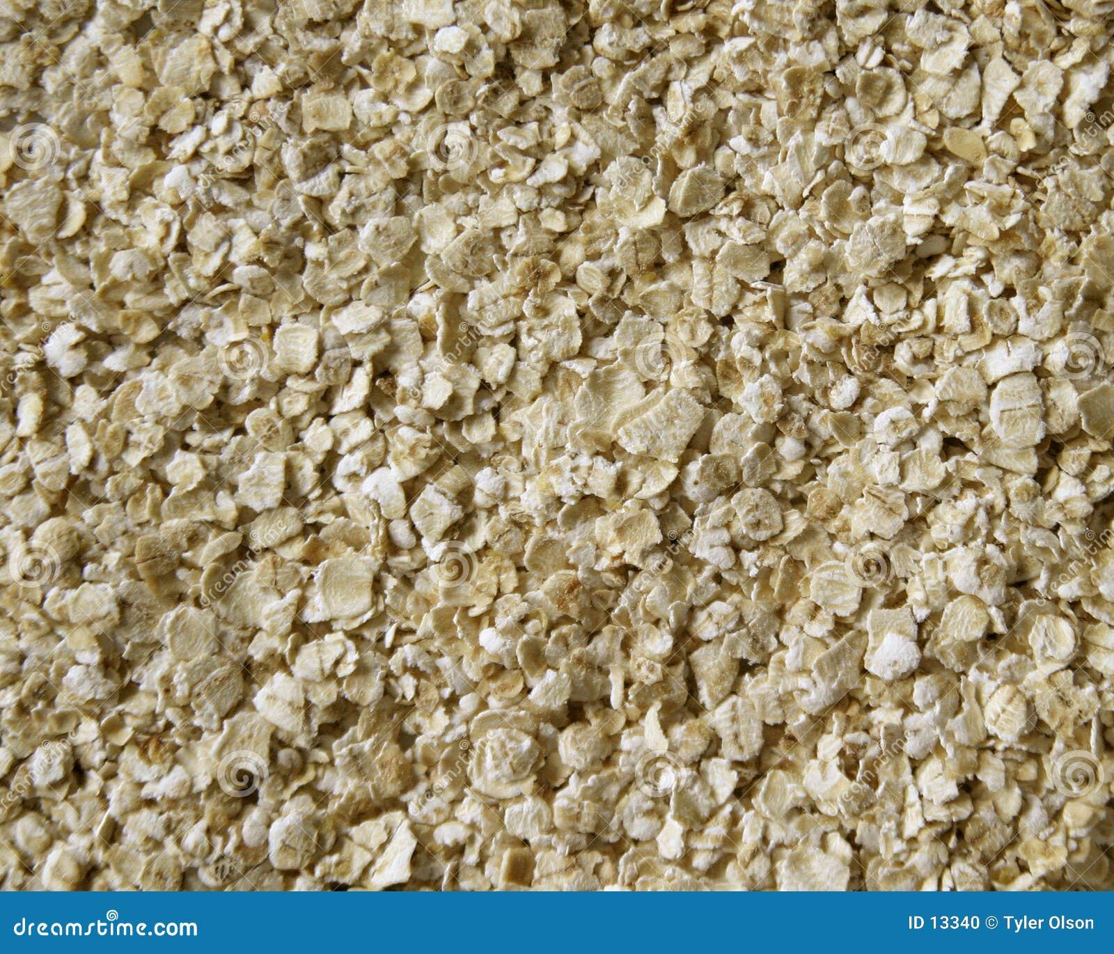 Textura de la harina de avena