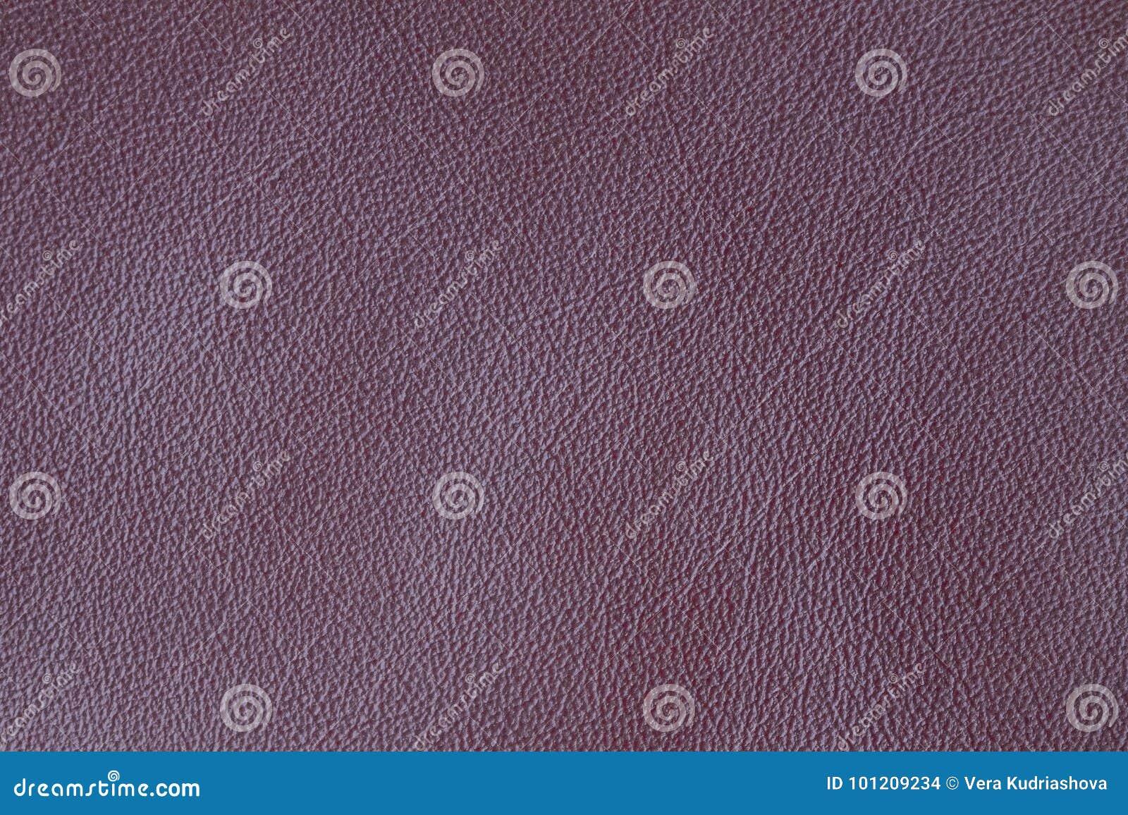 Textura de la lila del cuero natural