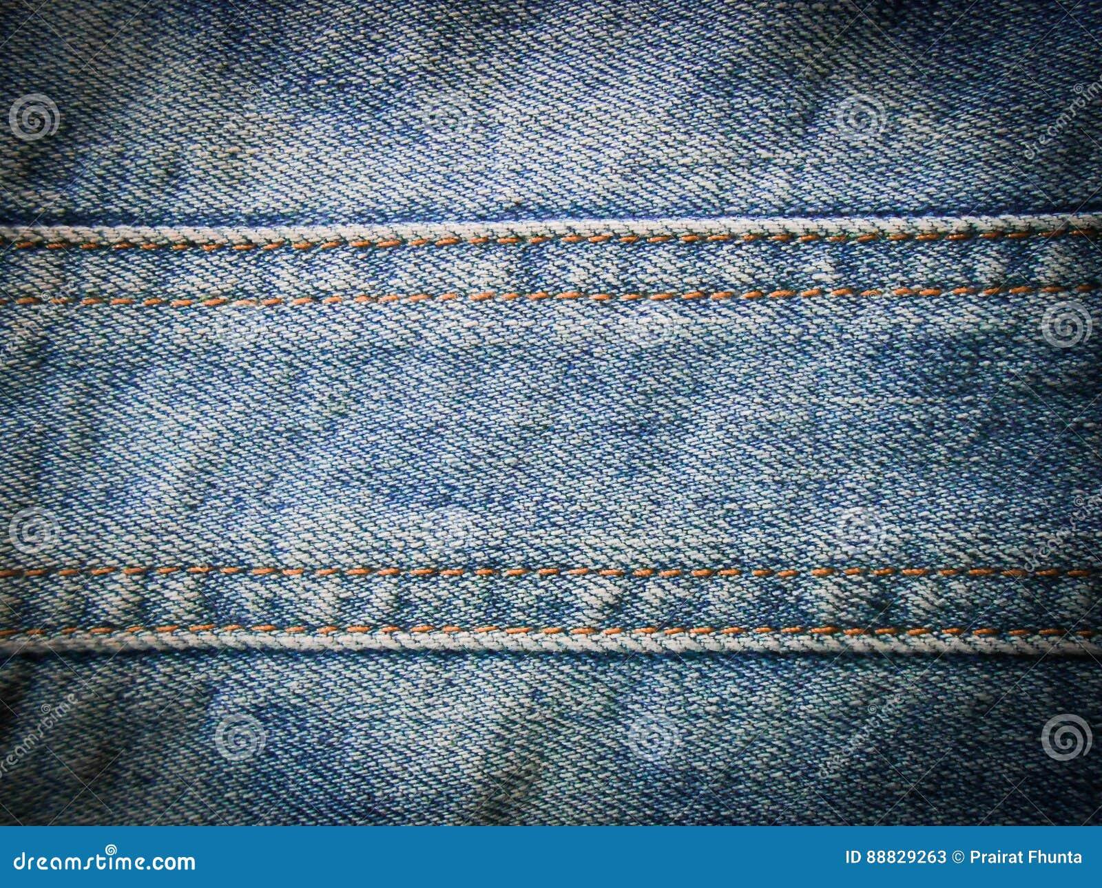 Textura de la mezclilla azul