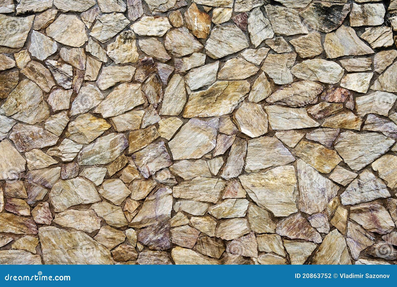 Textura de la pared de piedra fotograf a de archivo - Hacer pared de piedra ...