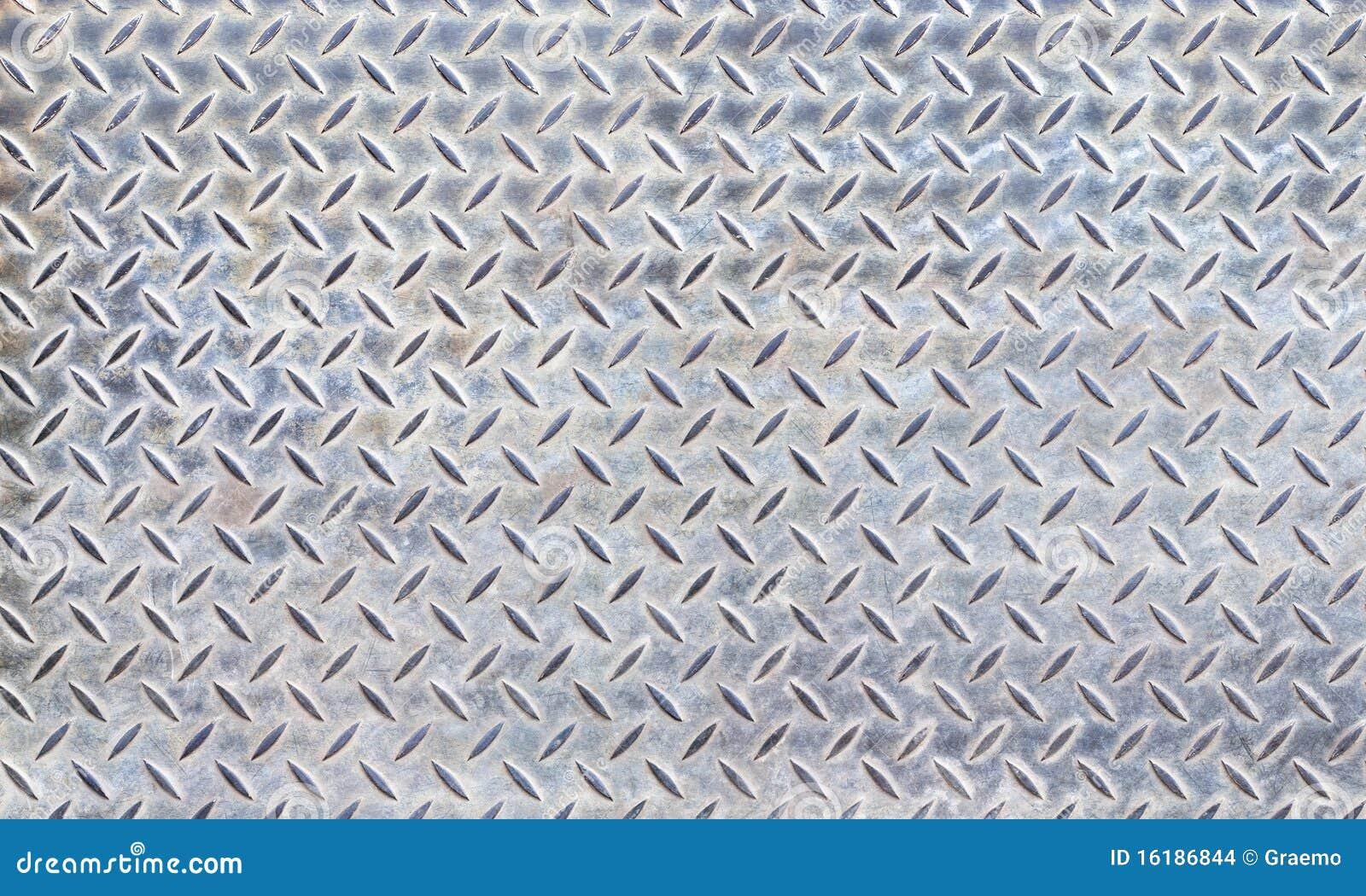 Textura de la placa de acero del diamante imagenes de for Placa de acero