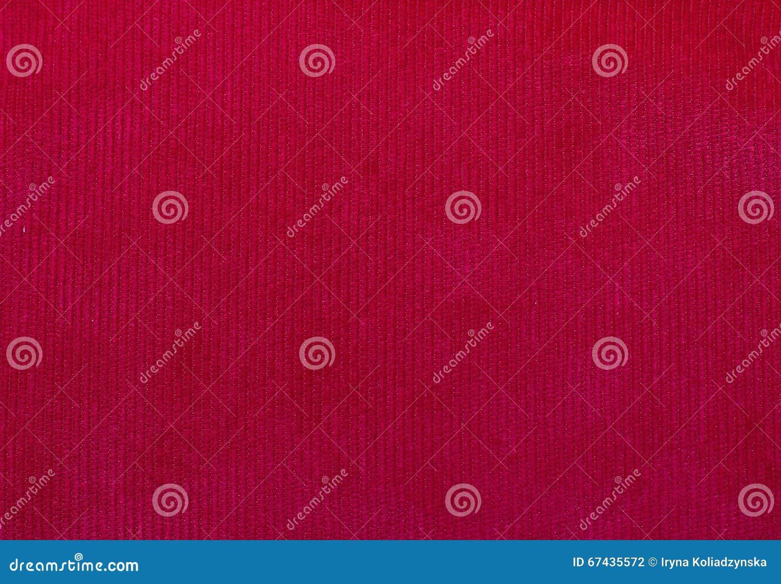 Textura De La Tela Del Terciopelo, Rojo, Para Los Fondos