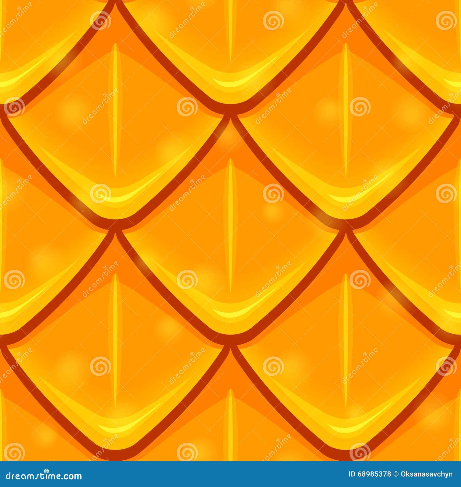 Textura de las escalas de los rombos