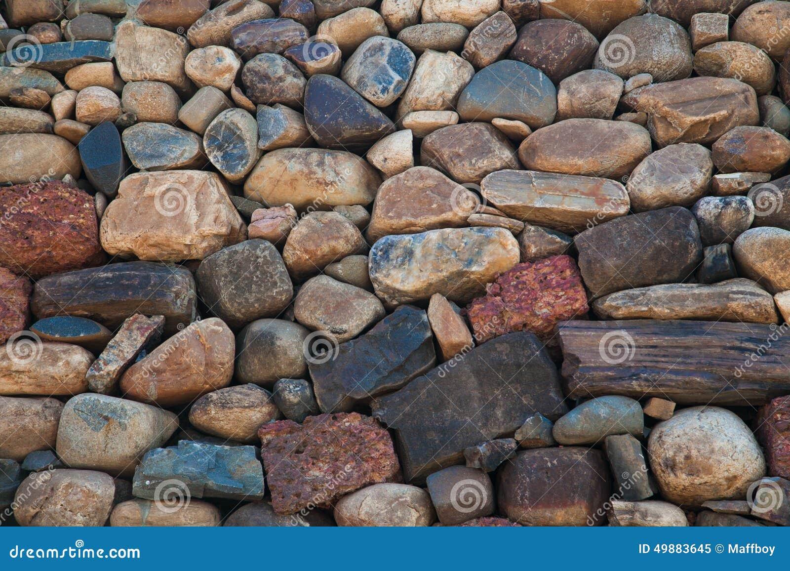 Textura de las piedras