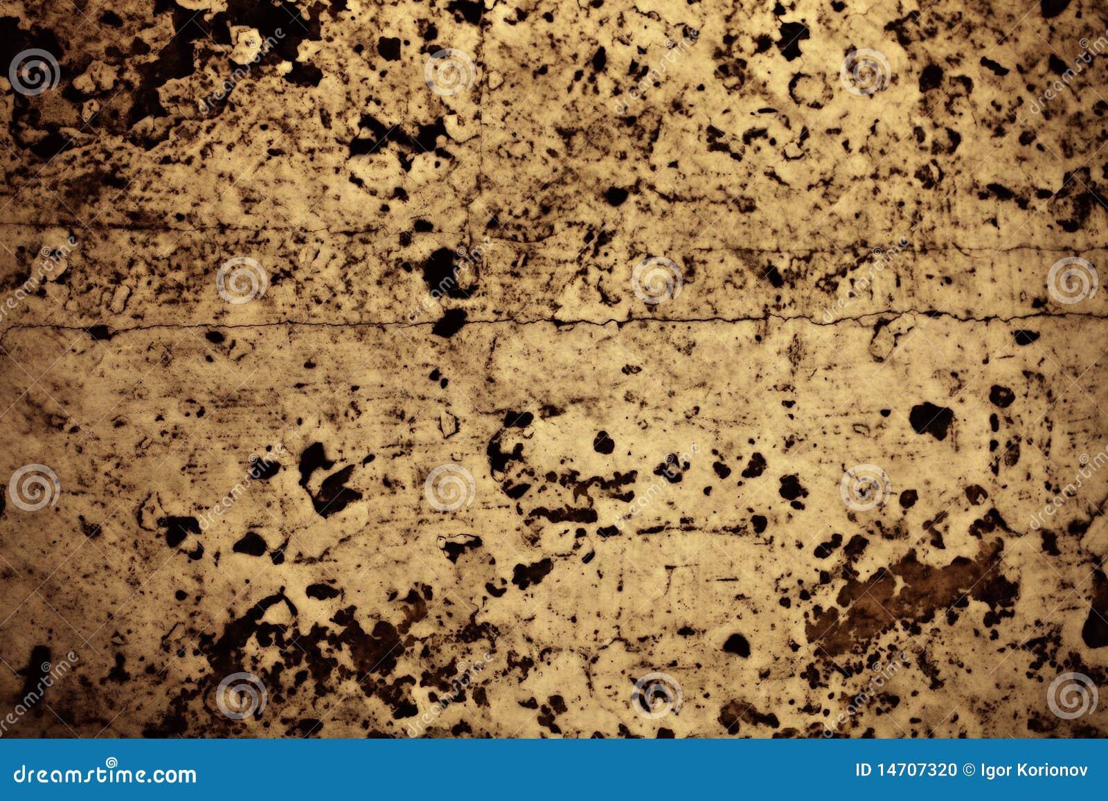 Textura de las superficies cinc-revestidas del metal