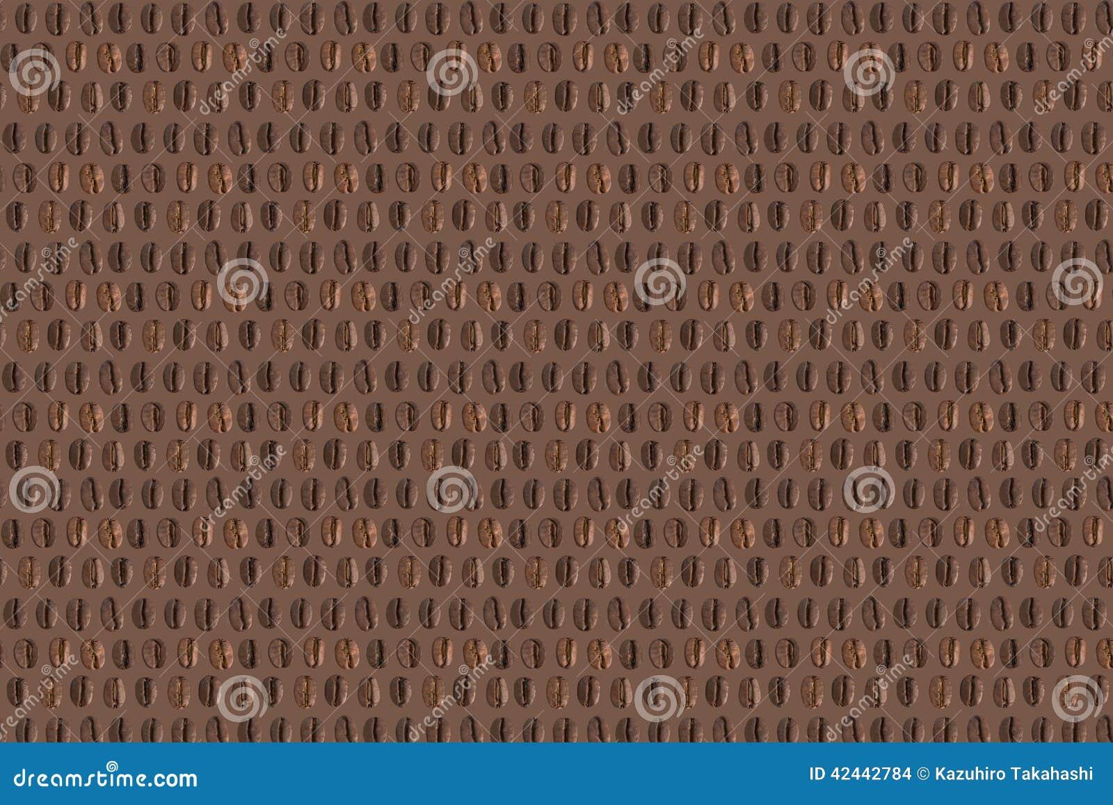 Textura de los granos de café