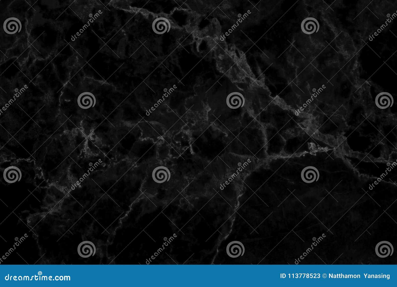 Textura de mármore preta no teste padrão natural, assoalho de pedra preto