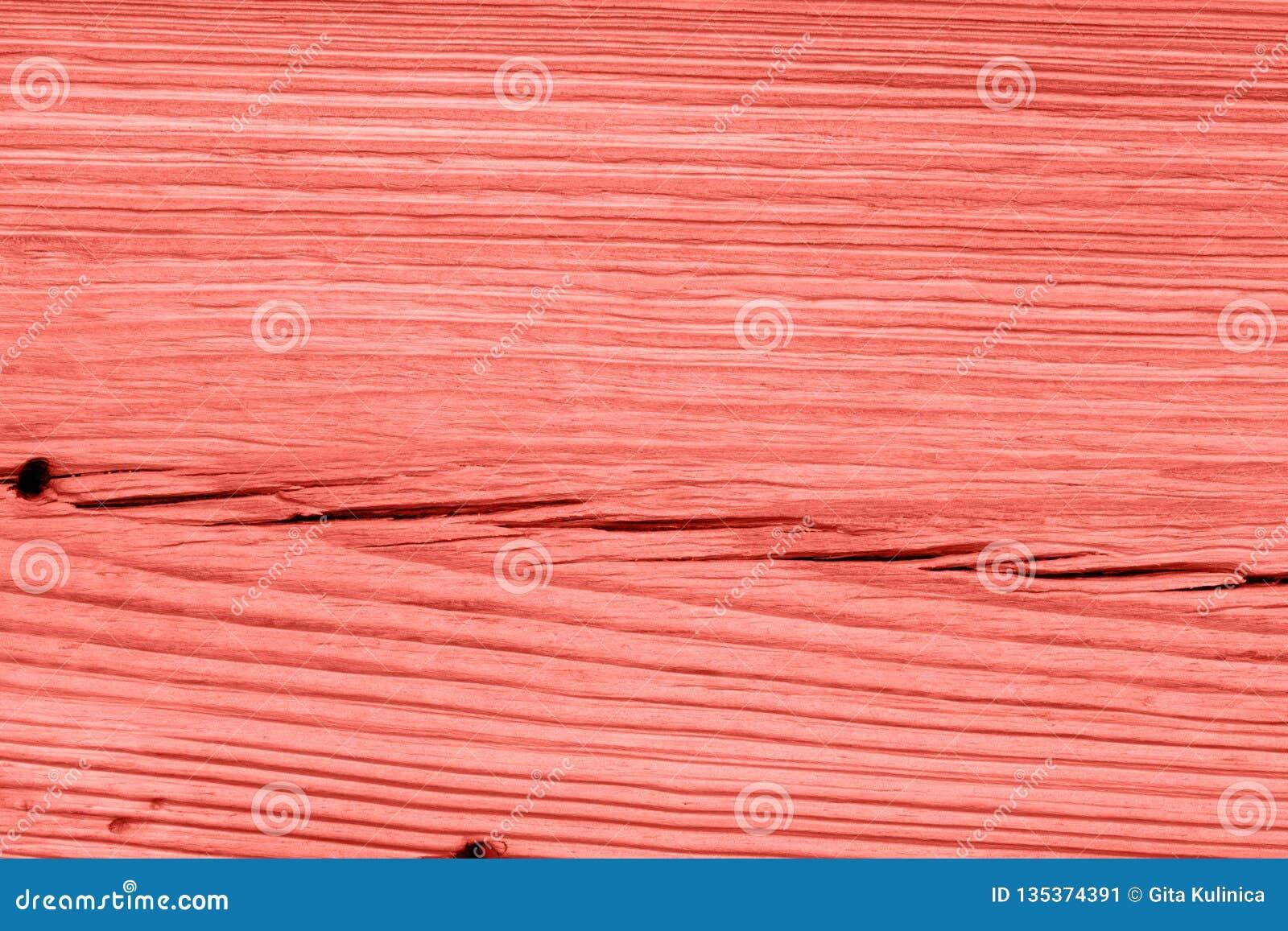 Textura de madeira coral de vida do vintage abstraia o fundo