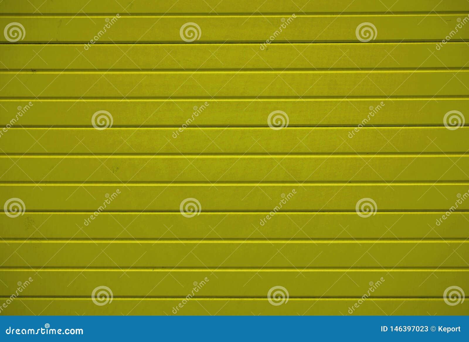 Textura de madeira do fundo com pranchas amarelas