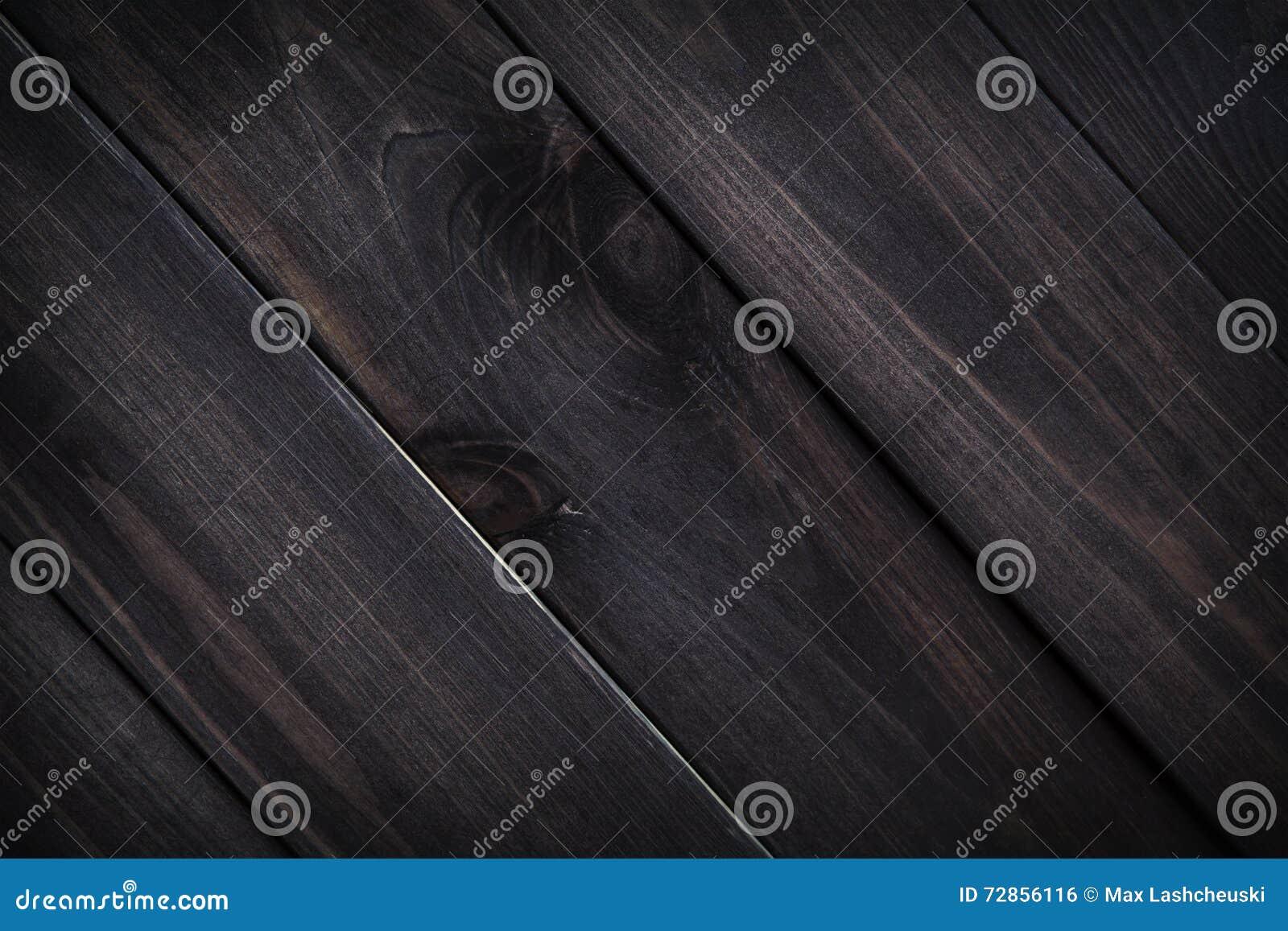 Textura de madeira escura Pranchas de madeira velhas marrons do fundo