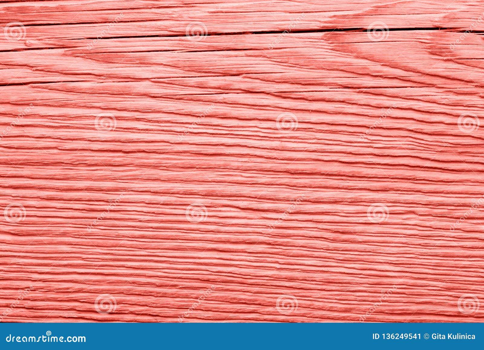 Textura de madera coralina de vida del vintage abstraiga el fondo
