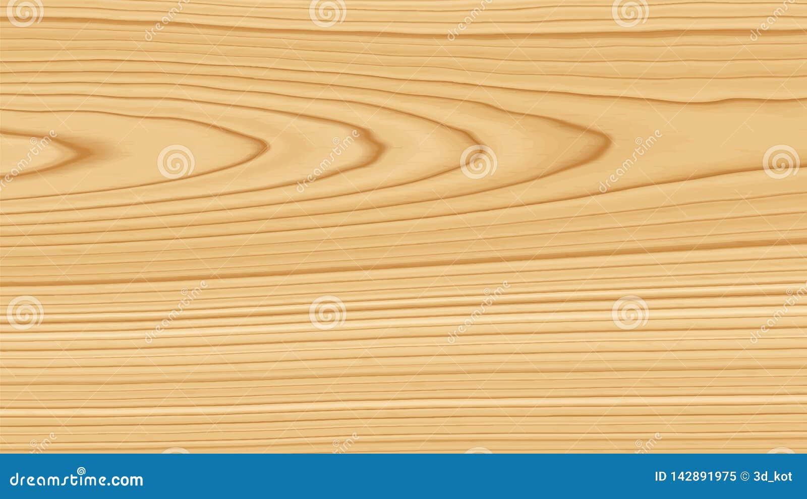 Textura de madera de pino Fondo de madera Ilustración del vector