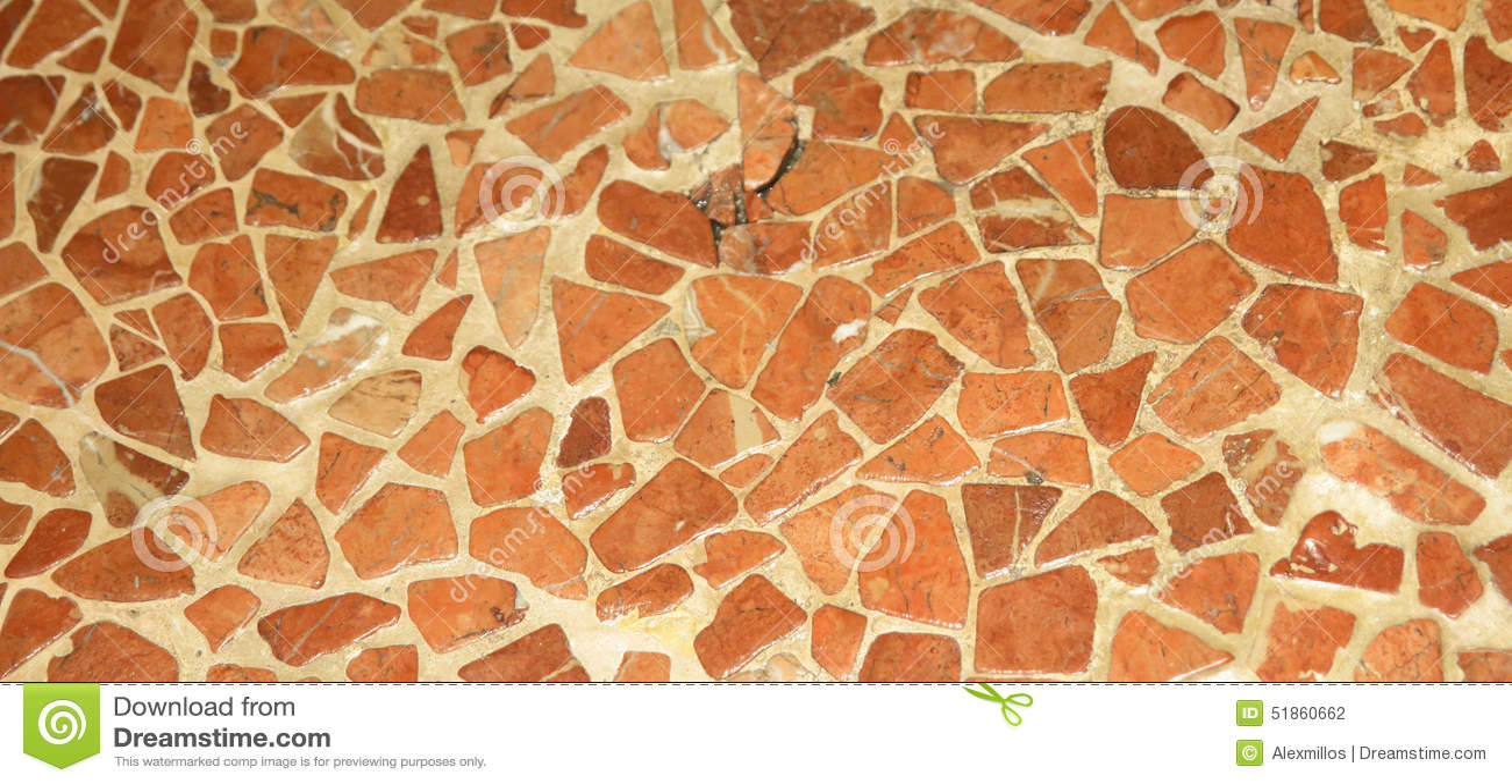 Textura de mosaico natural del piso de los colores de for Nivelar piso de tierra