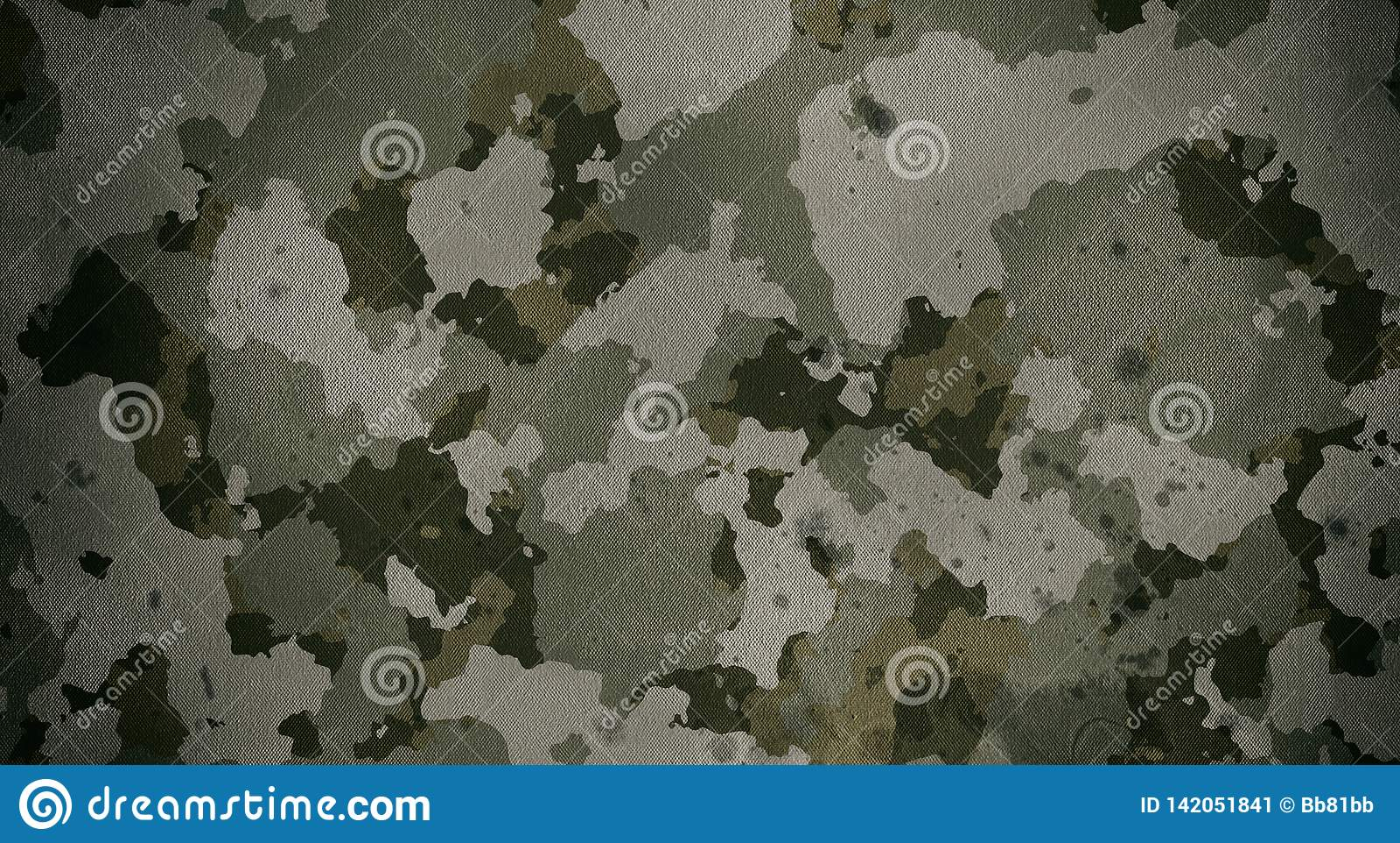 Textura de pano do teste padrão da camuflagem Fundo e textura para o projeto