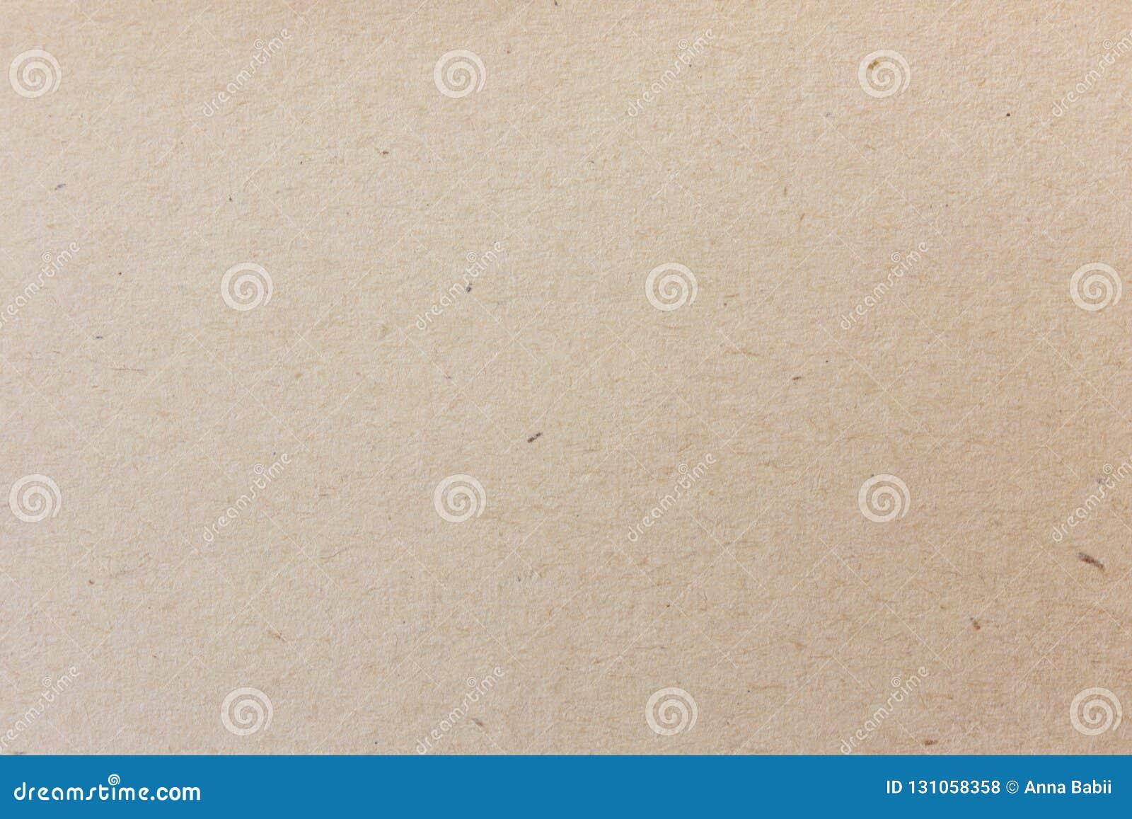 Textura de papel velha do ofício Fundo marrom do vintage