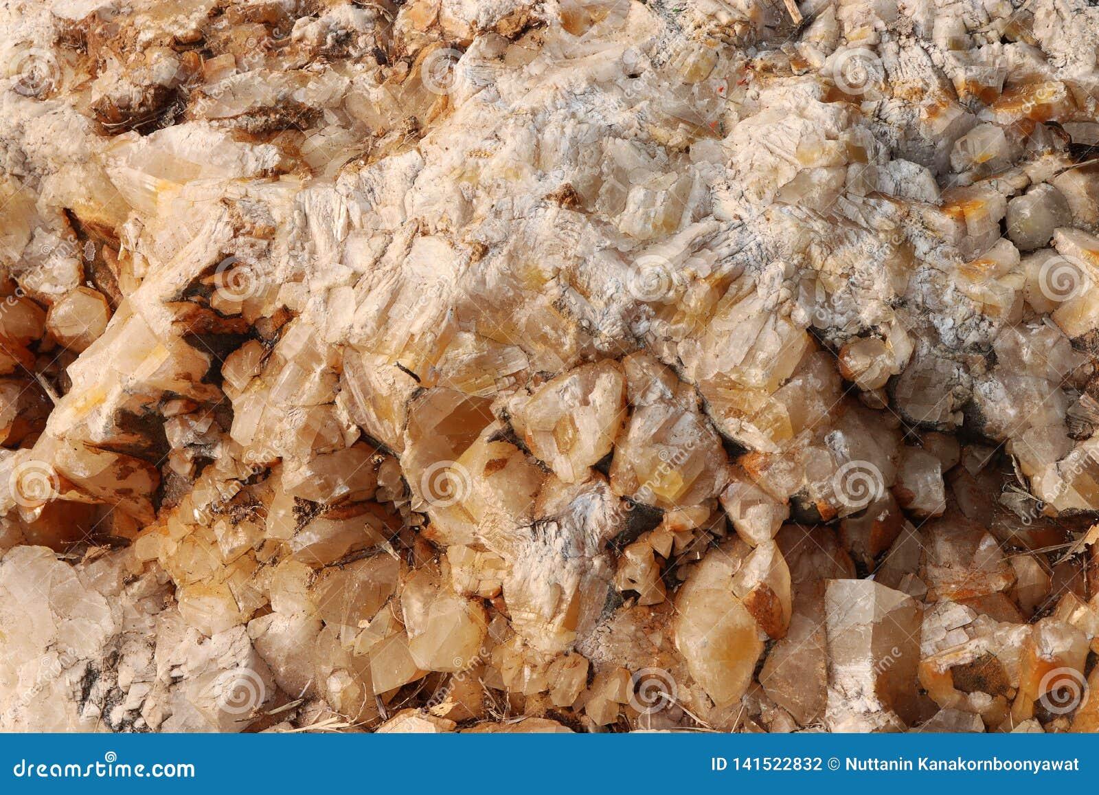 Textura de pedra da calcite - fundo
