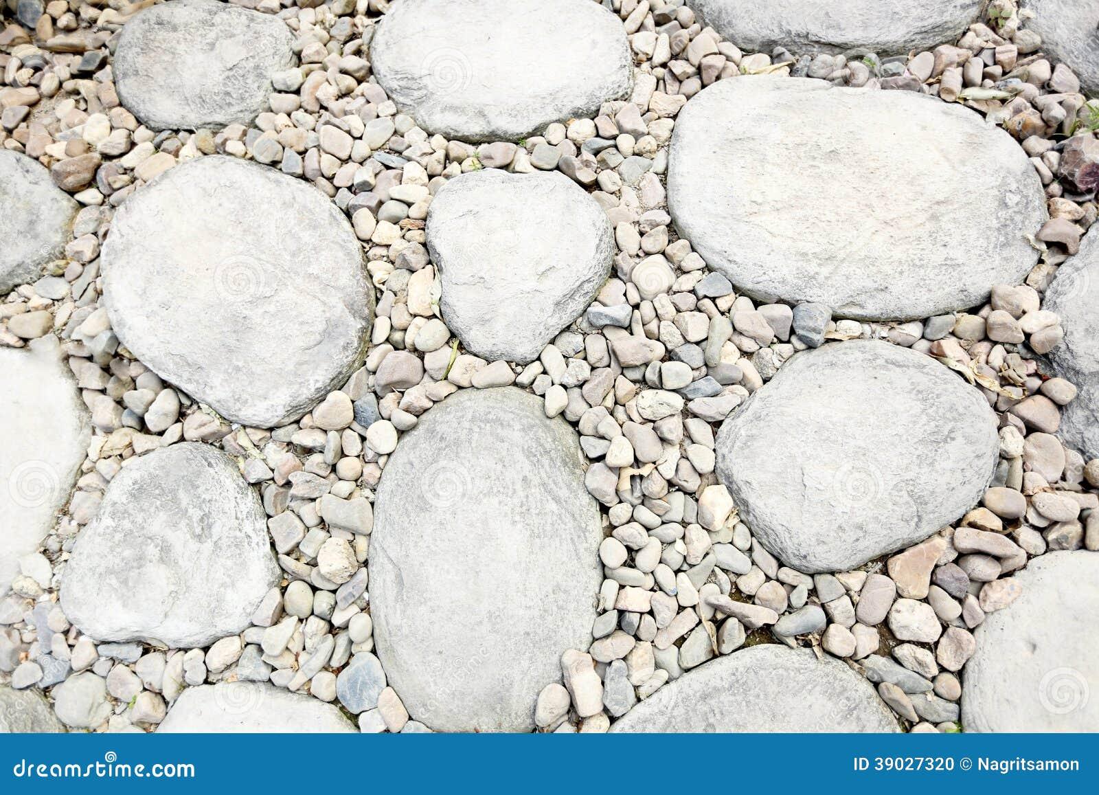 pedra jardim caminho:Textura De Pedra Do Caminho No Jardim De Pedra Foto de Stock – Imagem