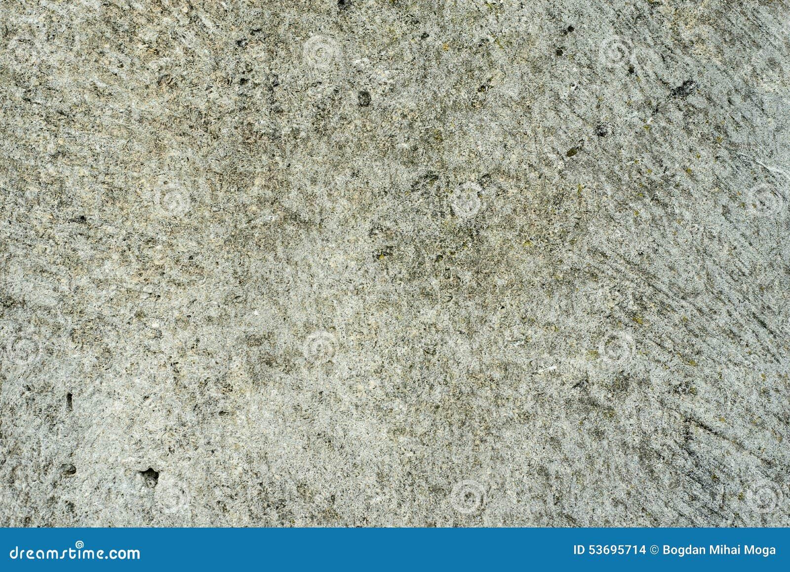Textura de pedra, rocha alisada