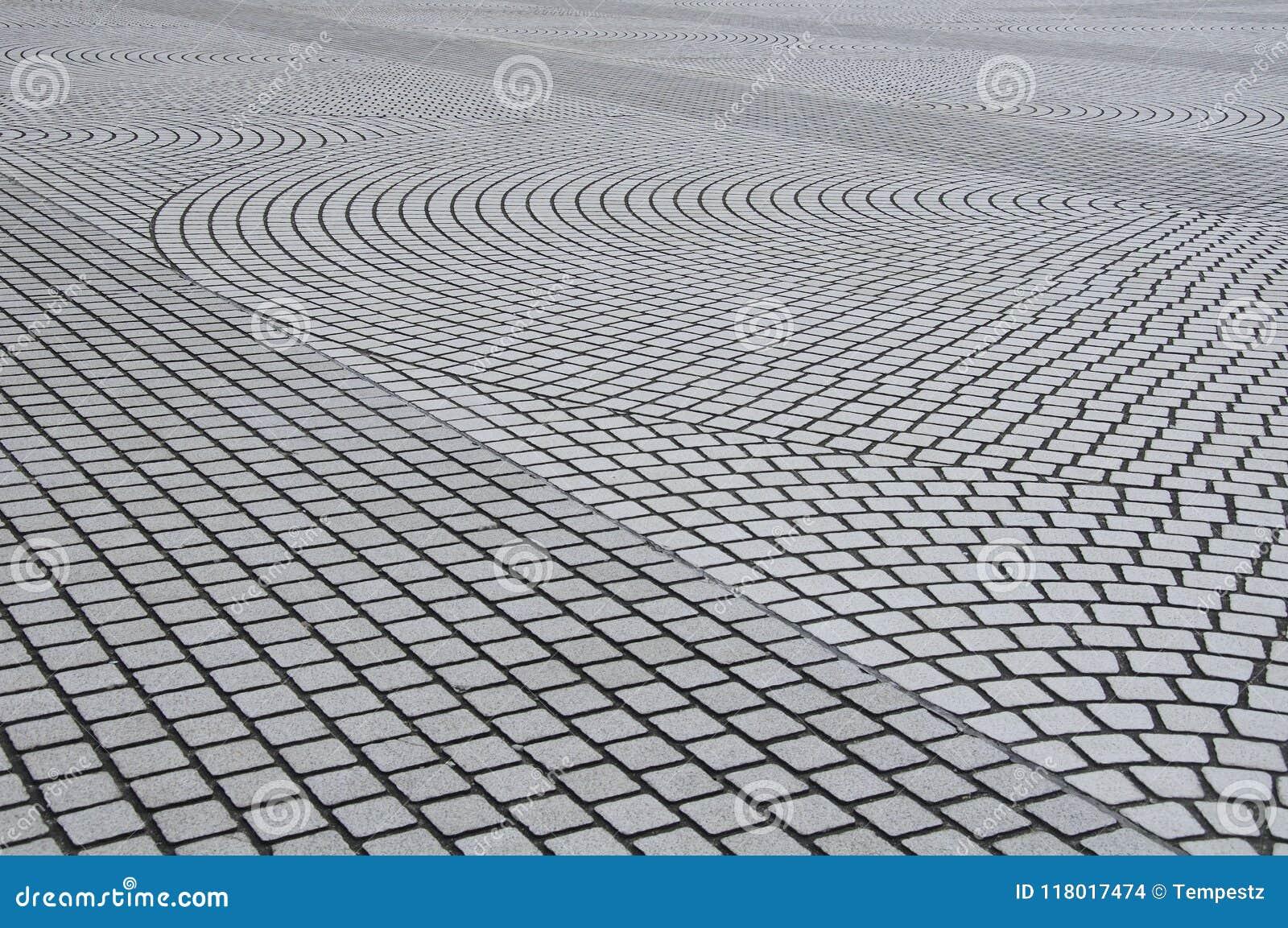 Textura de piedra abstracta del fondo de la pavimentadora