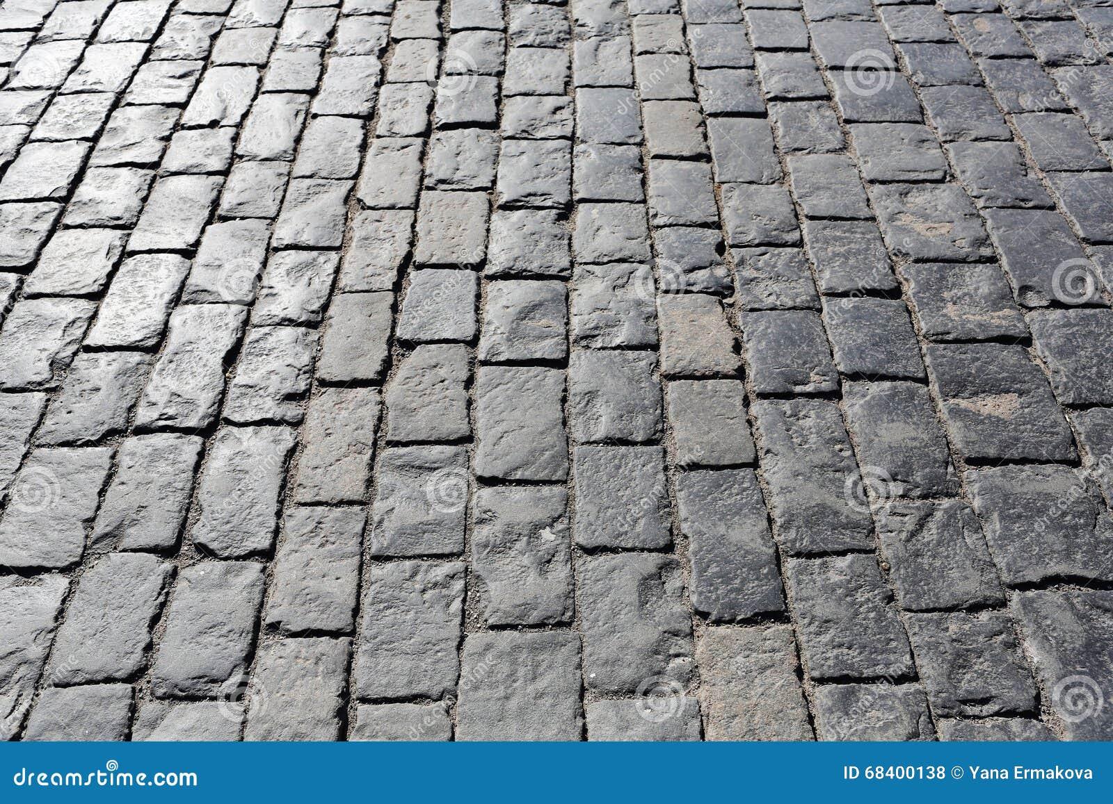 Textura de piedra del pavimento
