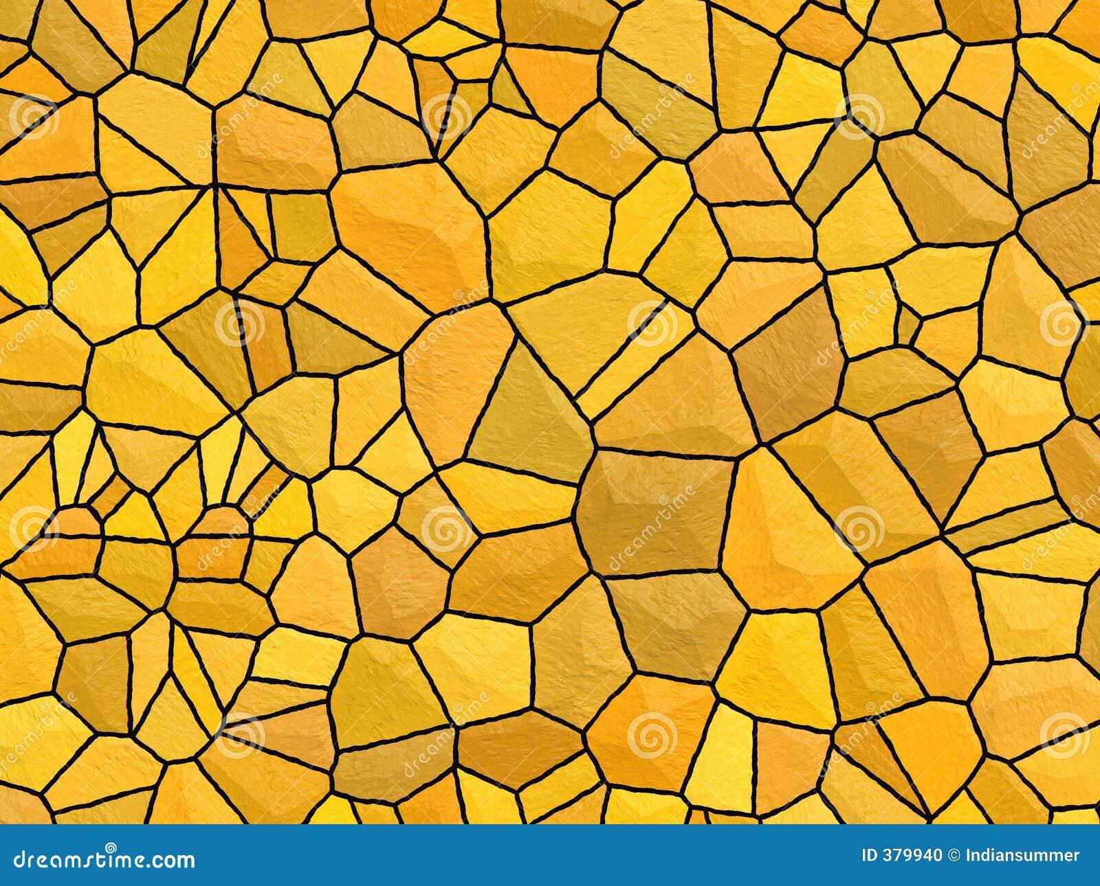 Textura de Stonewall - pedra alaranjada