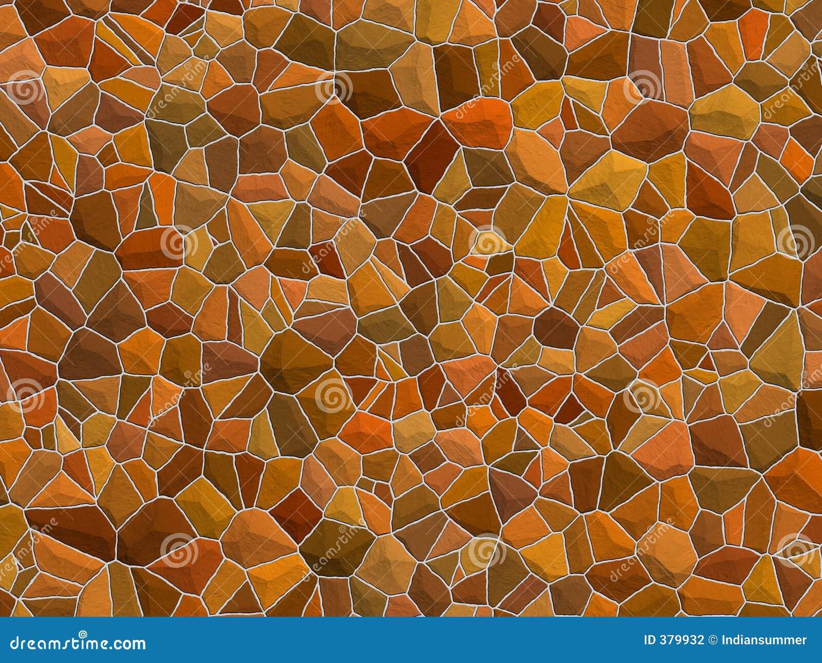 Textura de Stonewall - pedras marrons