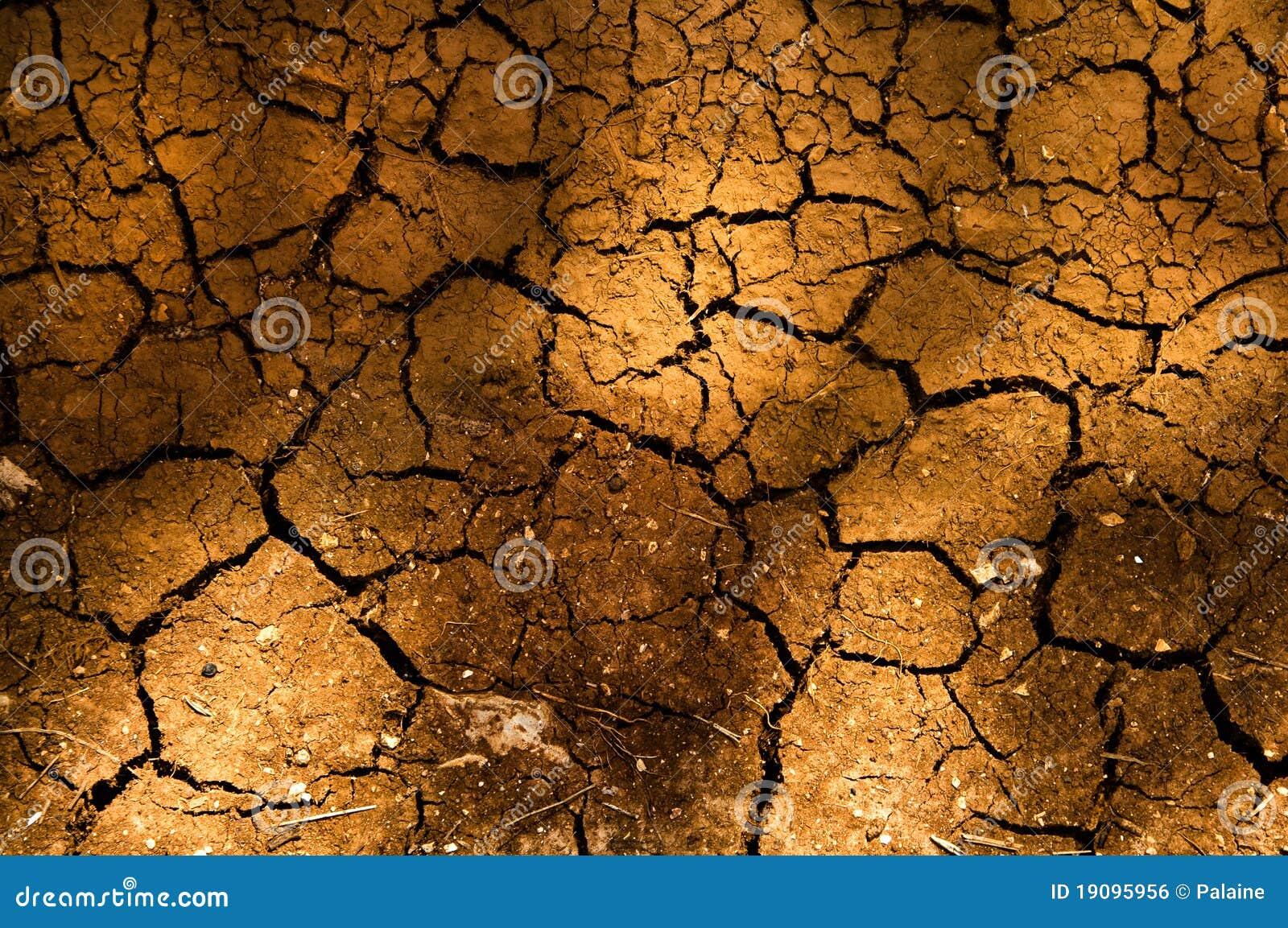 Imagen de archivo libre de regalías textura de tierra seca