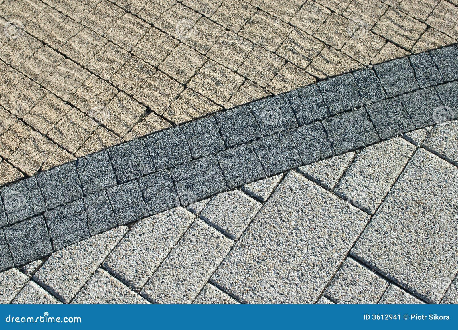 Textura de tres de las clases ladrillos del pavimento - Clases de ladrillos ...