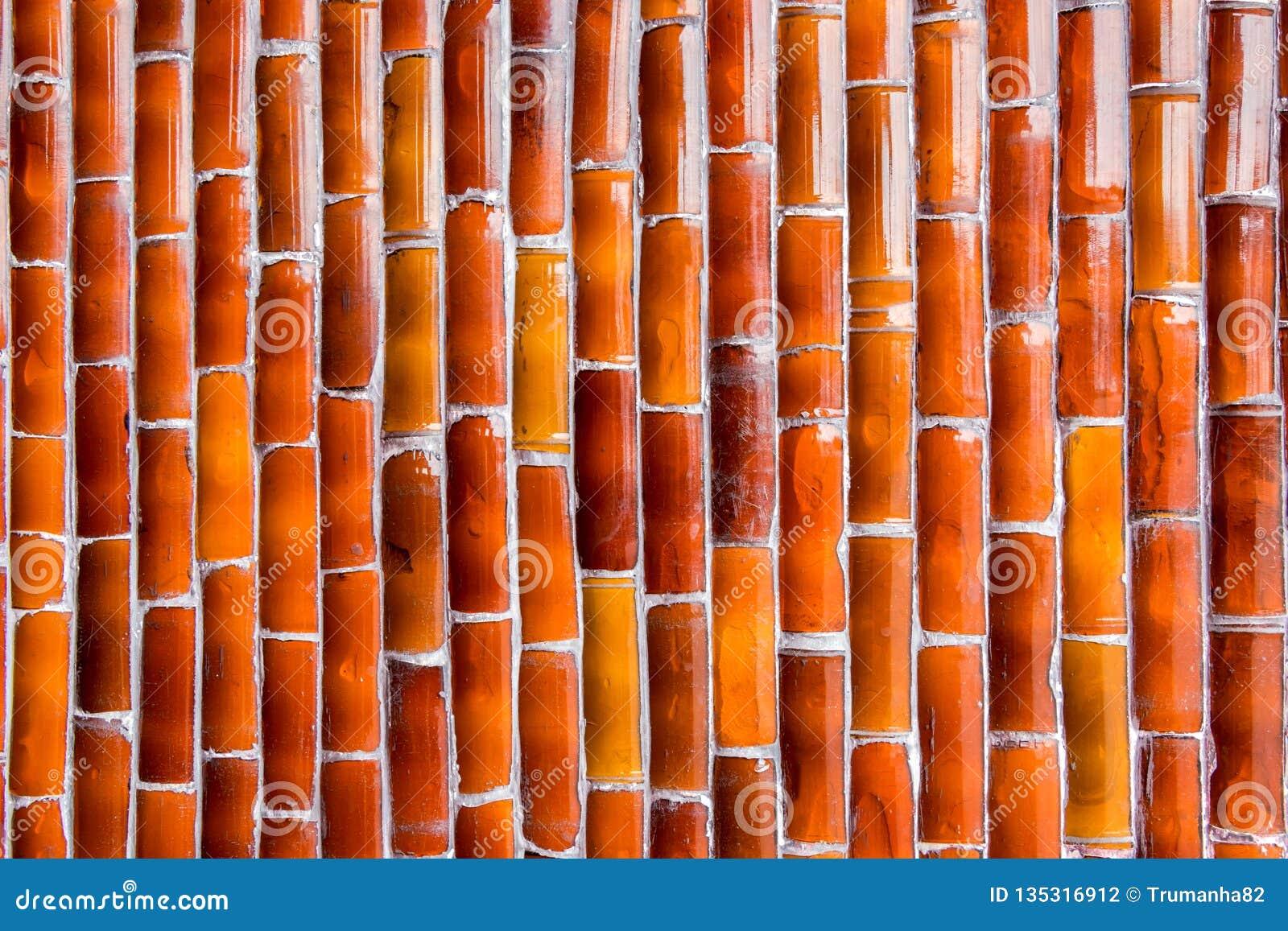 Textura de una pared de cristal