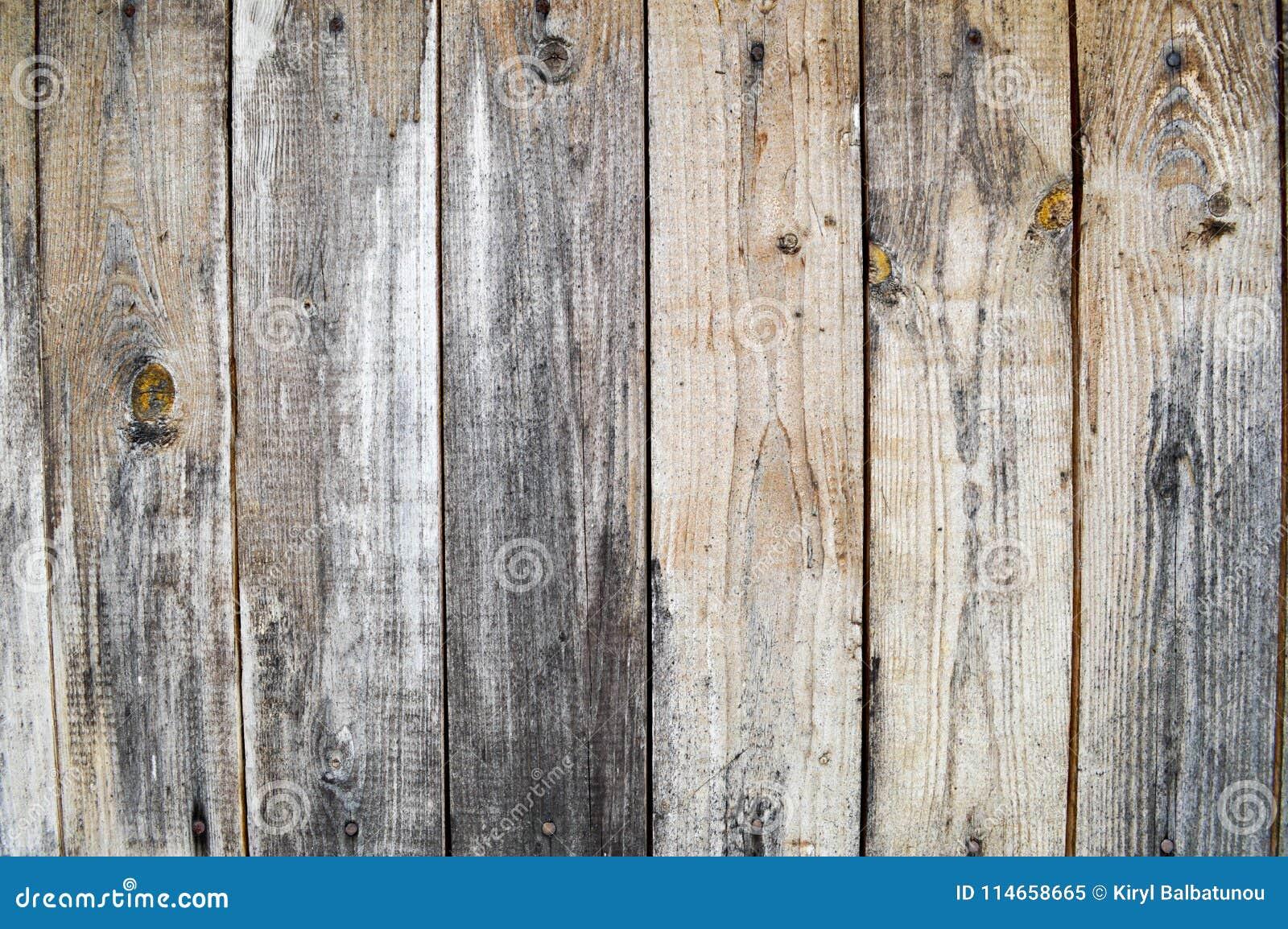 Textura de una pared de madera vieja gris negra, de una cerca de los viejos tableros trepadores verticales de diversos tamaños co