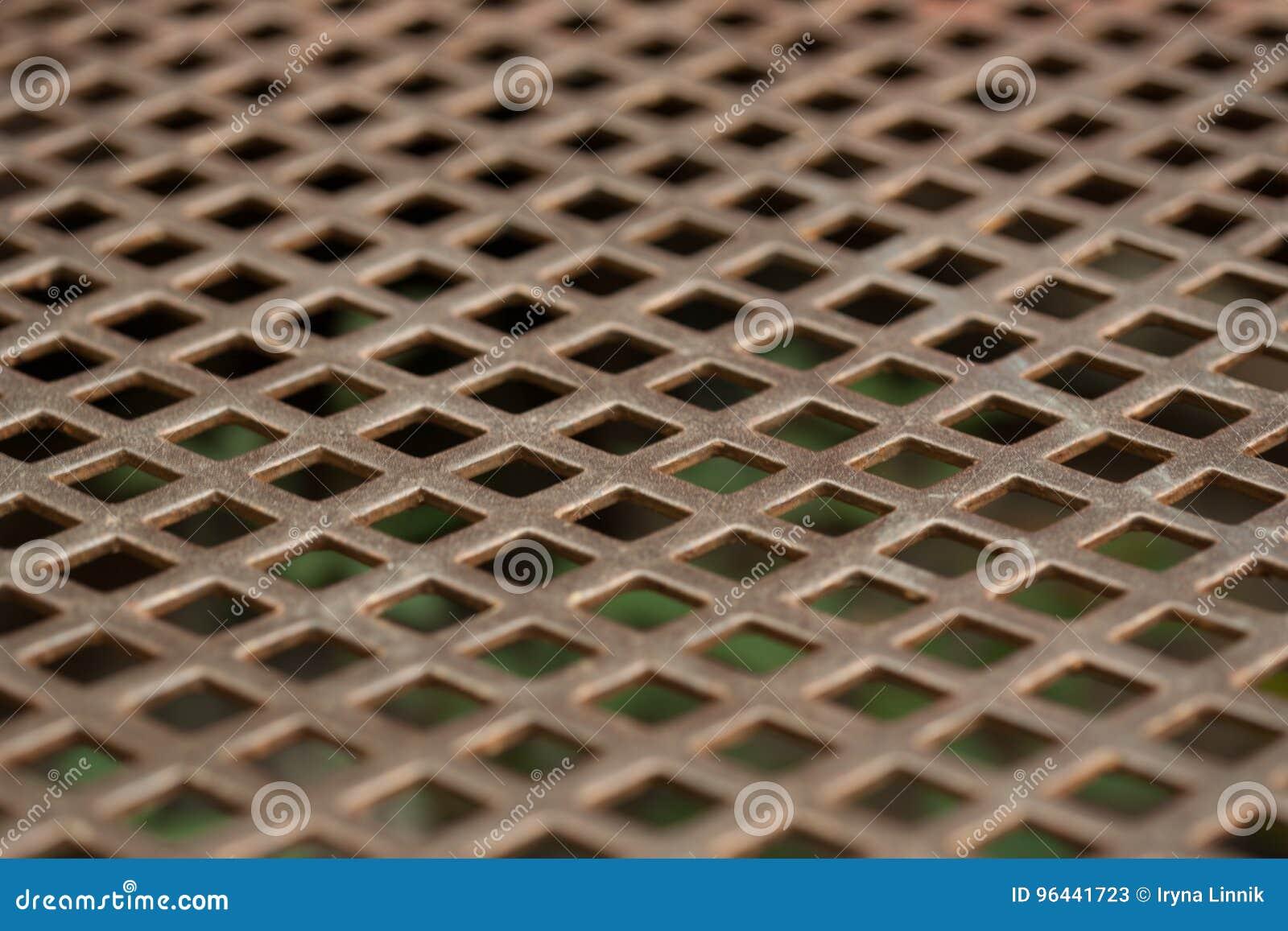 Textura del acero inoxidable chapa perforada foto de - Chapas de acero inoxidable ...