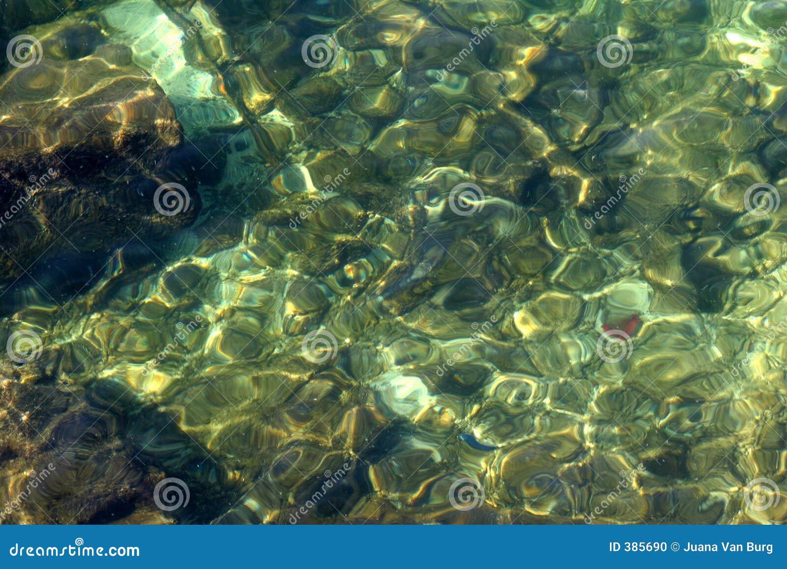 Textura del agua