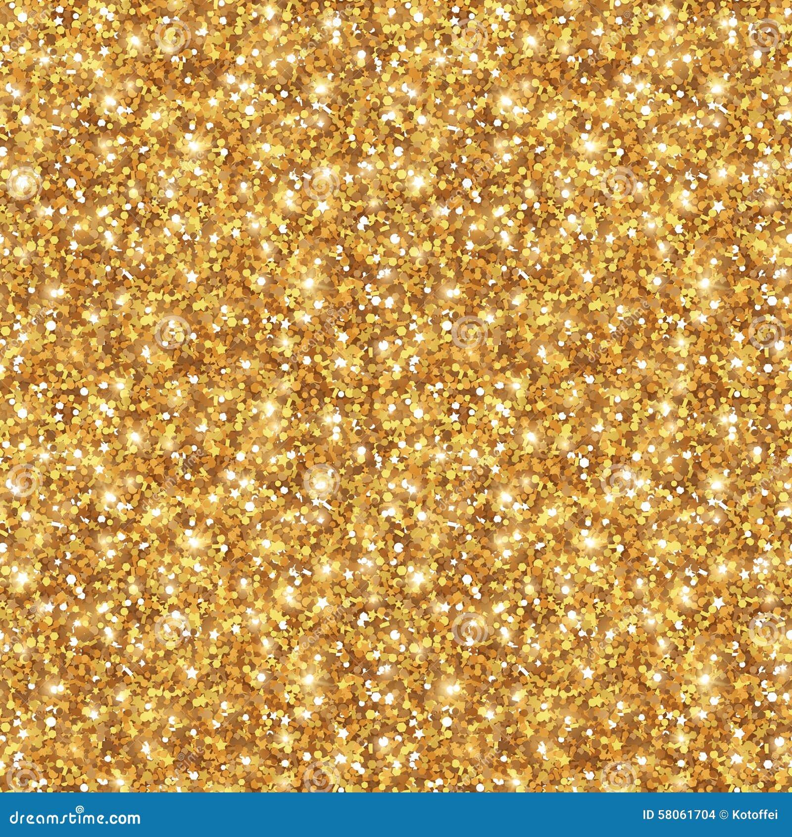 Textura del brillo del oro, modelo inconsútil de las lentejuelas