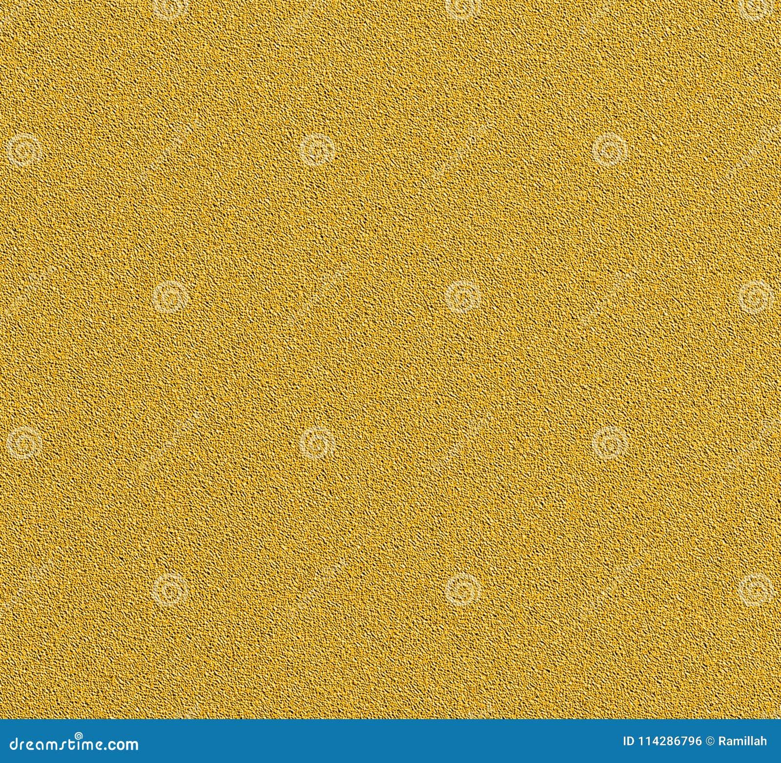 Textura del estuco de la pintura de Digitaces con el fondo del color oro