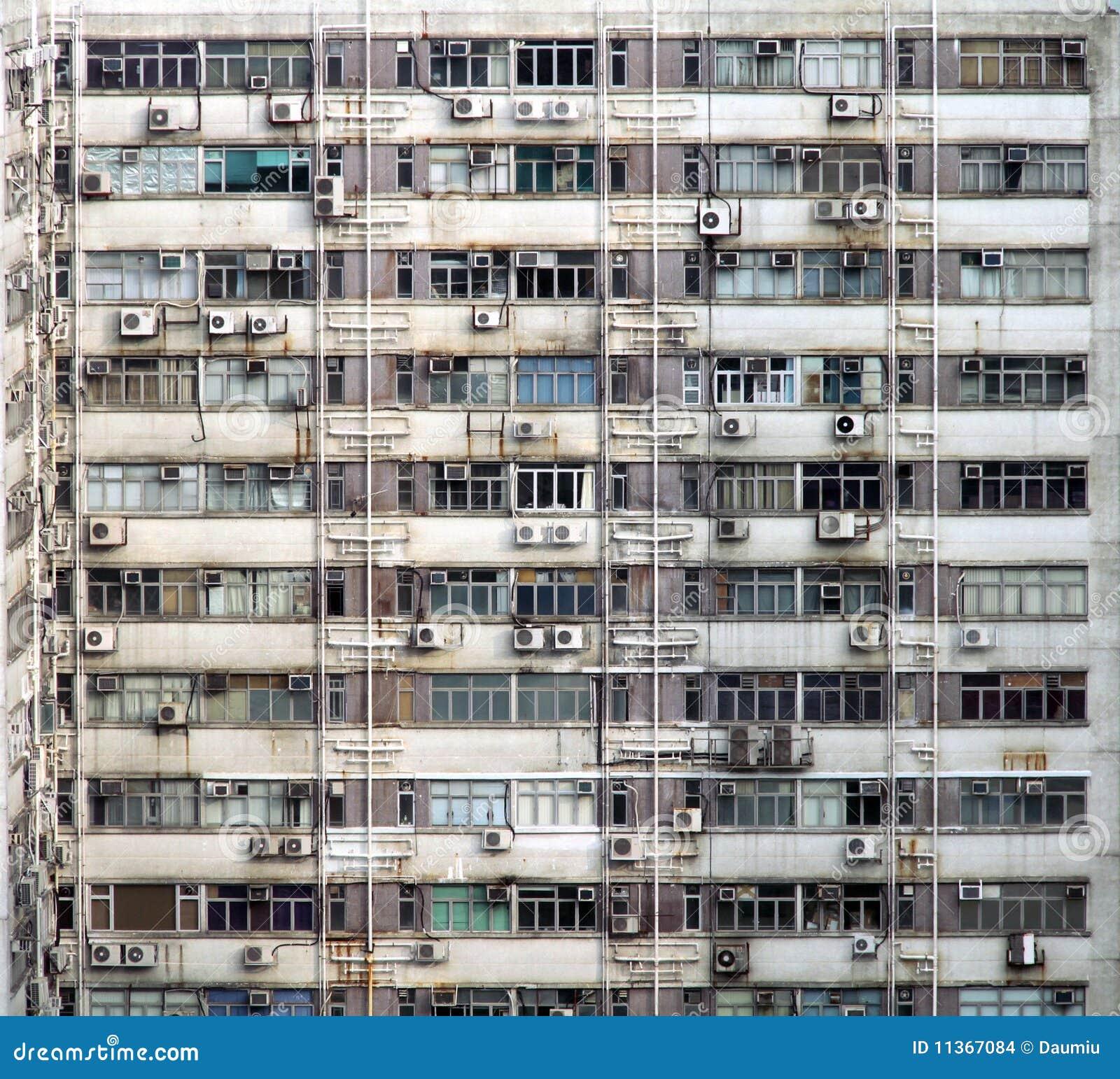 Textura del exterior del edificio industrial imagenes de for Exterior edificios