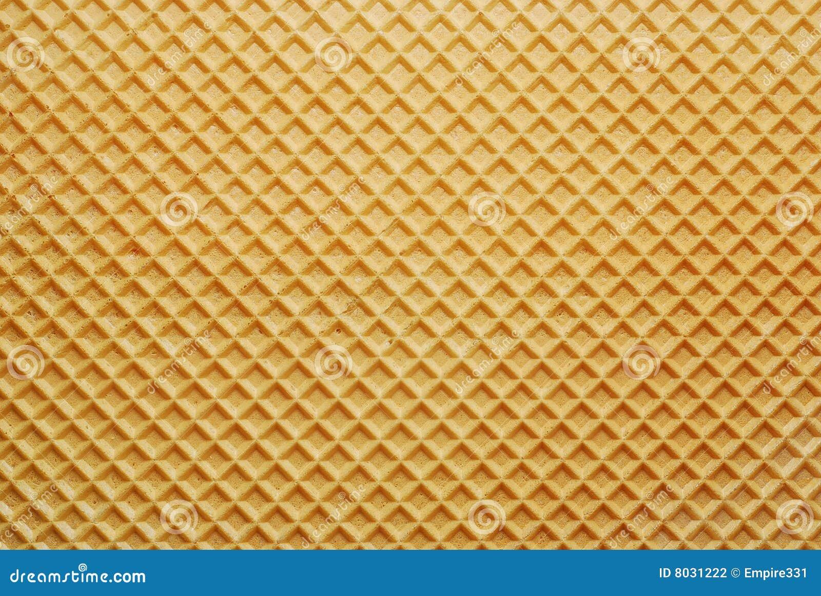 Textura del fondo de la oblea