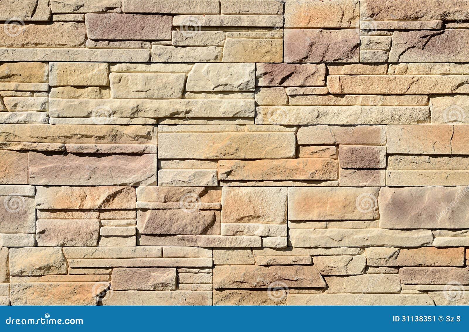 textura del fondo de la pared de piedra - Pared Piedra