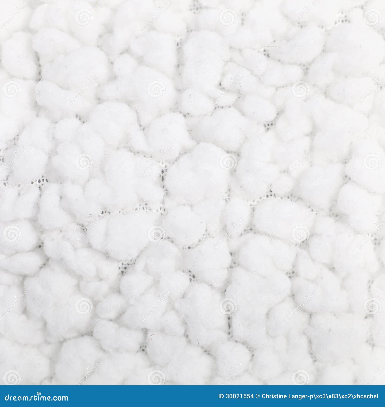 Materia Textil Blanca Mullida Suave Foto de archivo - Imagen de ...