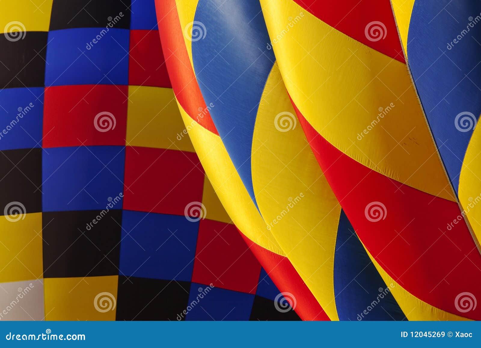 Textura del globo del aire caliente
