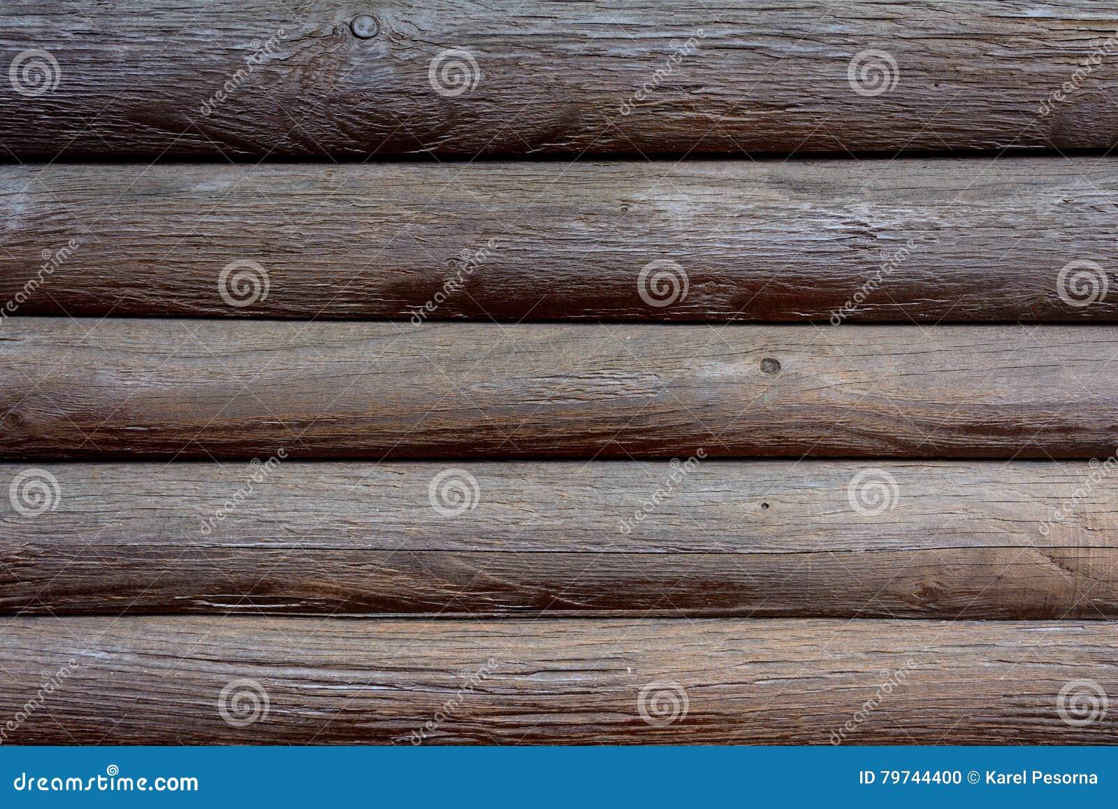 Textura del revestimiento de madera de madera del marrón oscuro