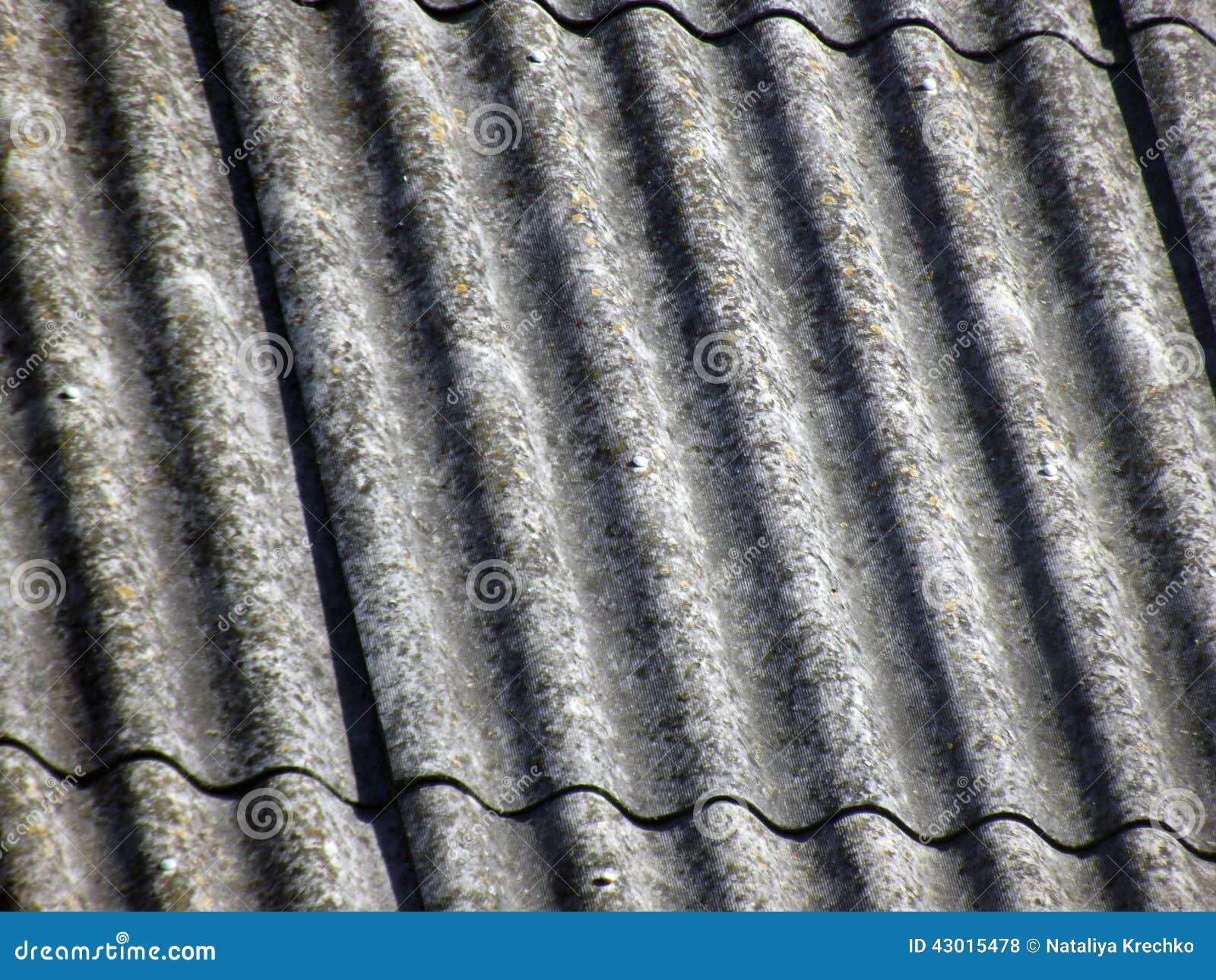 Textura del tejado de pizarra gris foto de archivo - Tejado de pizarra ...