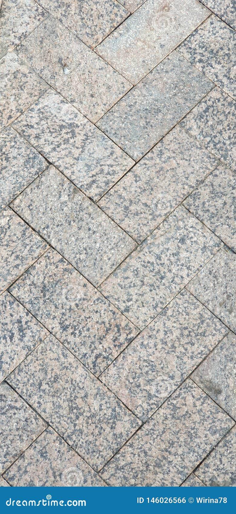 Textura do close up dos pavimentos Grey Square Pattern