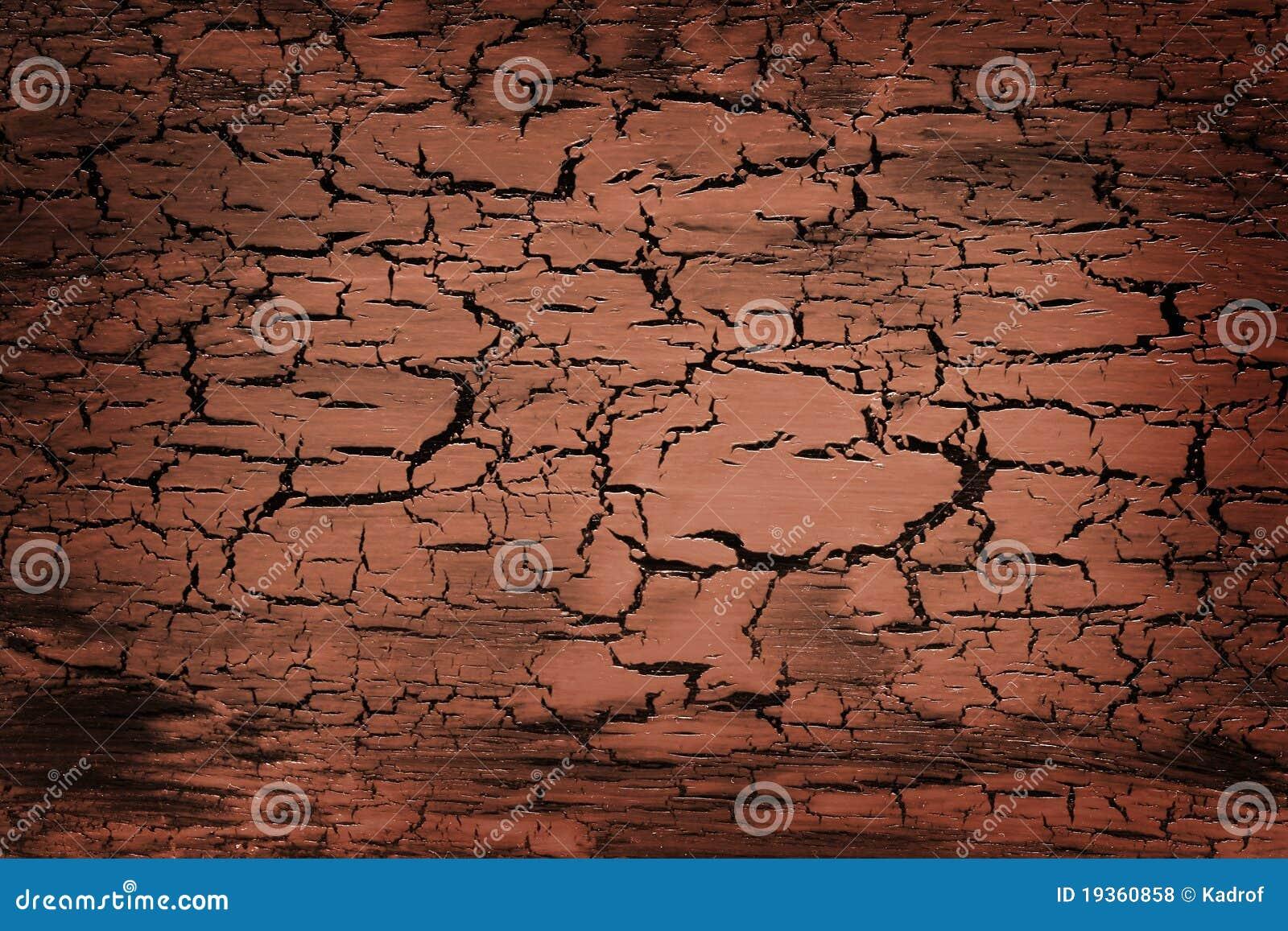 Textura do crackle de Brown