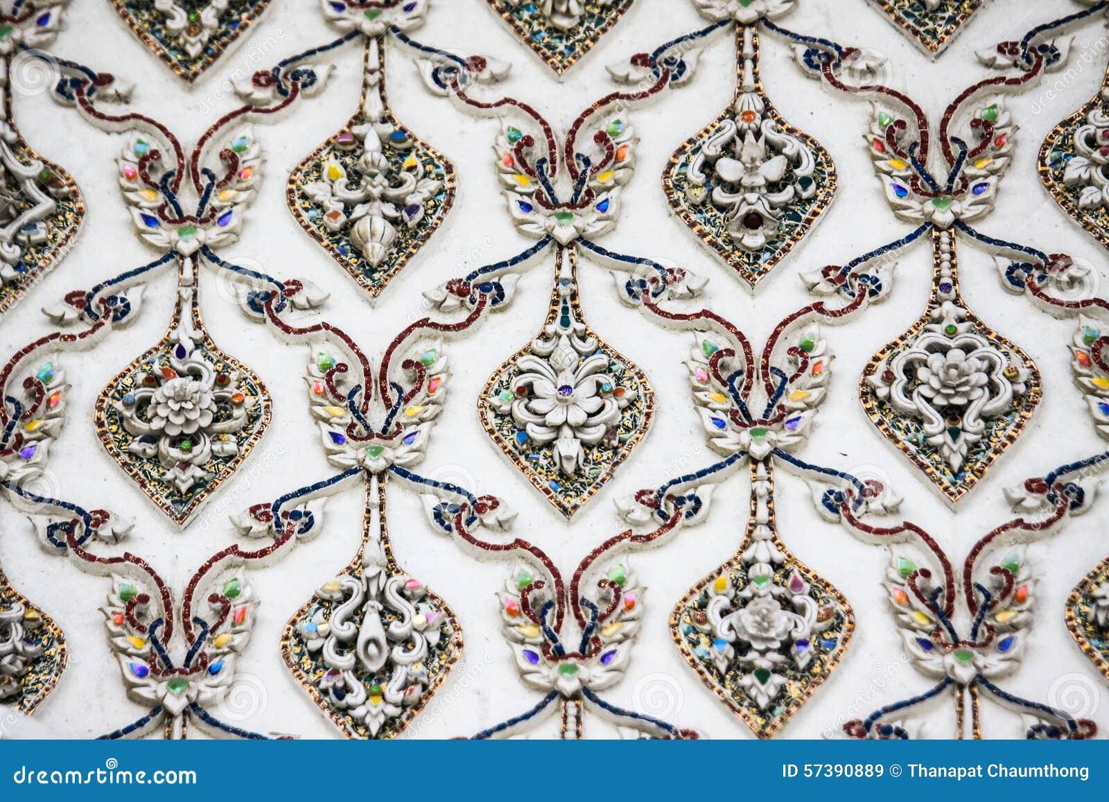 Textura do fundo da parede do templo