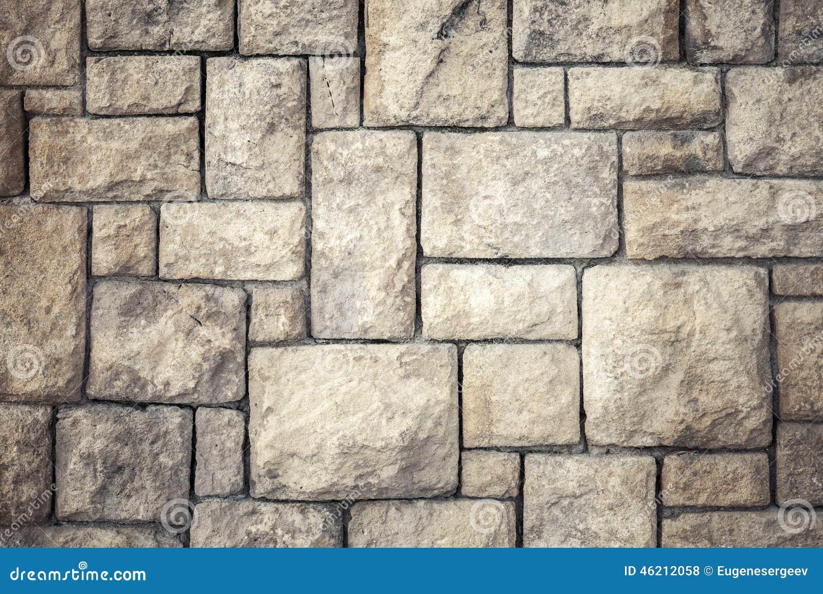 Textura do fundo da parede marrom velha da pedra - Piedra decorativa pared ...