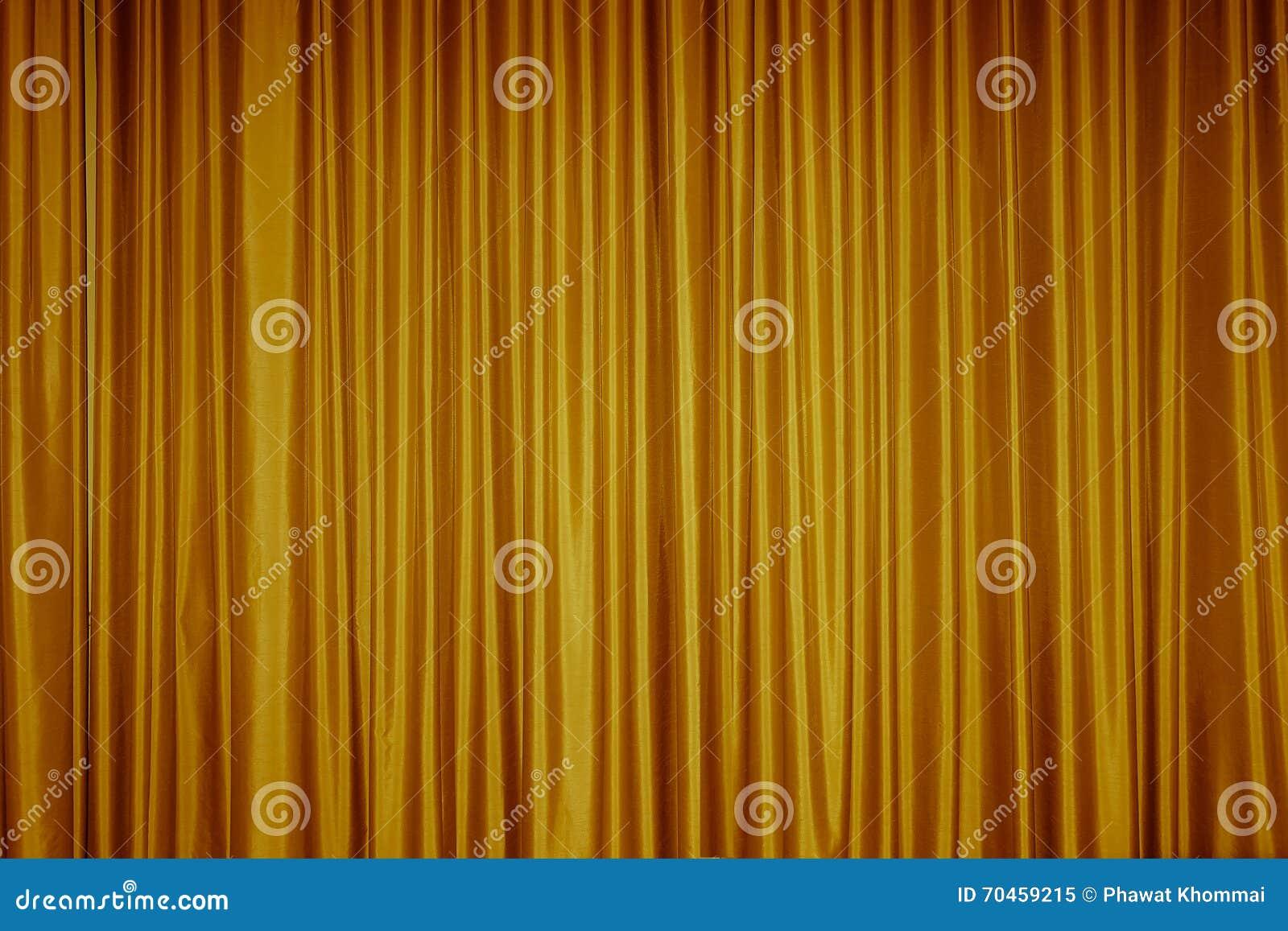 Textura Do Fundo Da Tela Da Cortina Imagem De Stock Imagem De Ouro - Tela-para-cortina