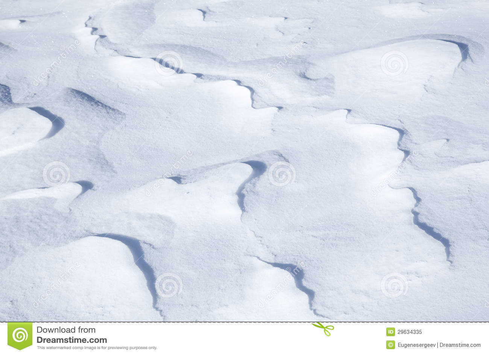 Textura do fundo do snowdrift montanhoso